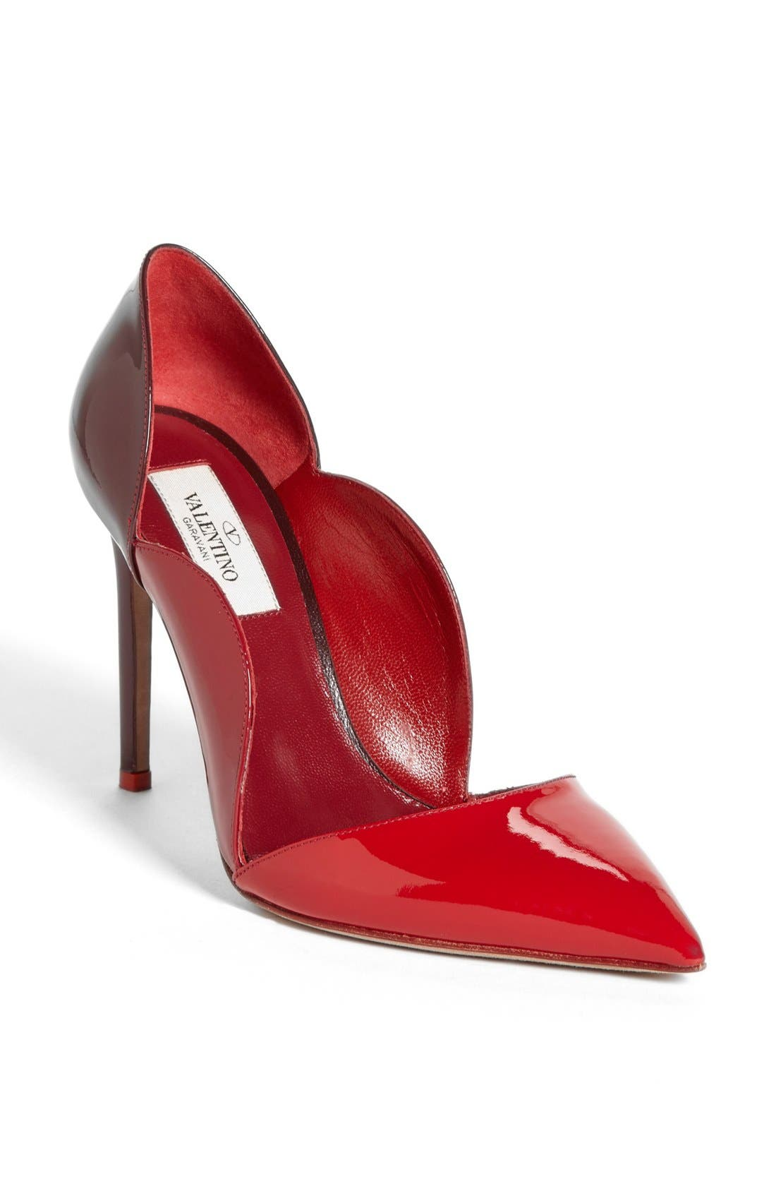 Alternate Image 1 Selected - VALENTINO GARAVANI Scalloped Pump