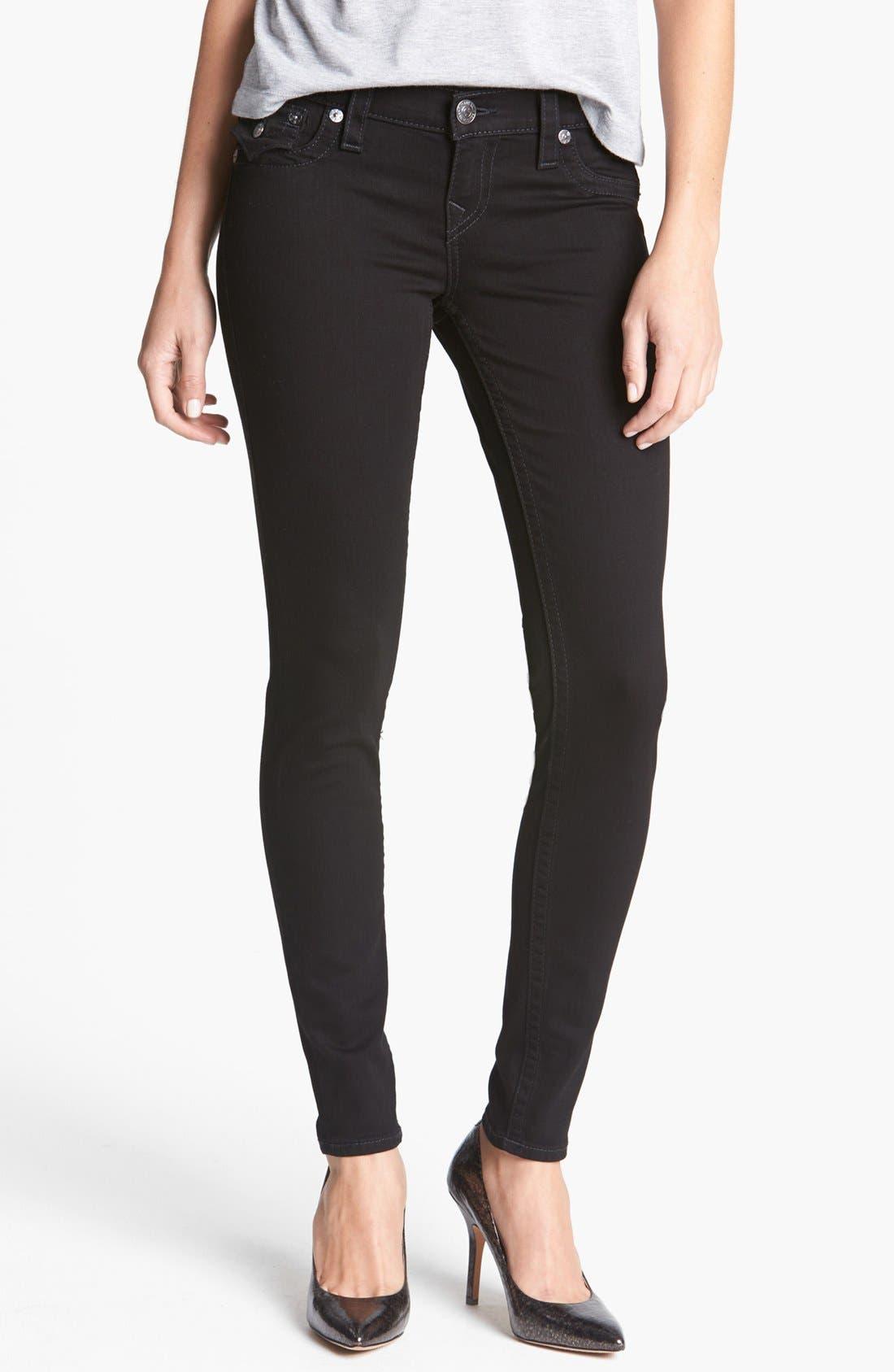 Alternate Image 1 Selected - True Religion Brand Jeans 'Misty' Skinny Denim Leggings (Super Vixen)