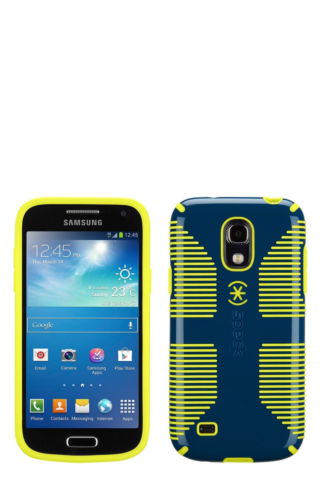 Alternate Image 1 Selected - Speck 'CandyShell Grip' Samsung Galaxy S® 4 Mini Case