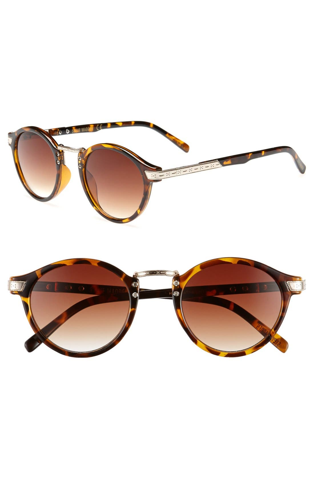 Alternate Image 1 Selected - Steve Madden 45mm Retro Sunglasses