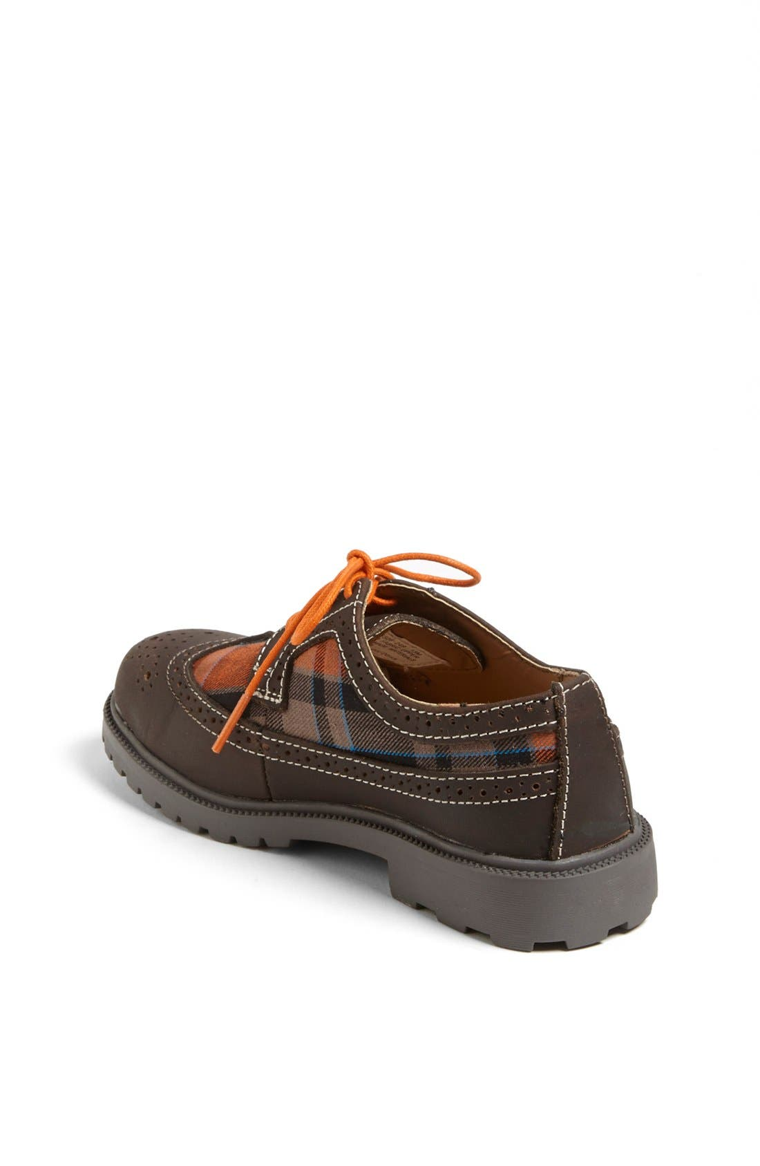Alternate Image 2  - Florsheim 'Valco Jr.' Wingtip Oxford (Toddler, Little Kid & Big Kid)