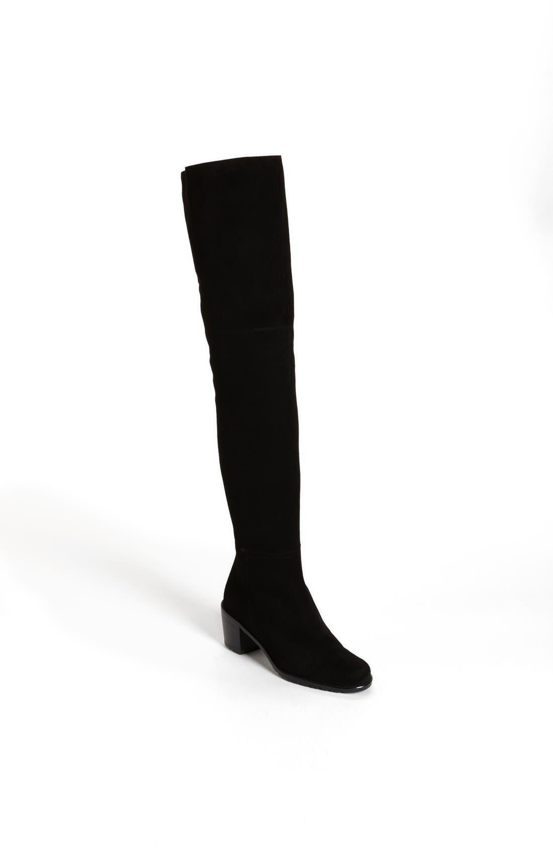 Alternate Image 1 Selected - Stuart Weitzman 'Hitest' Over the Knee Boot