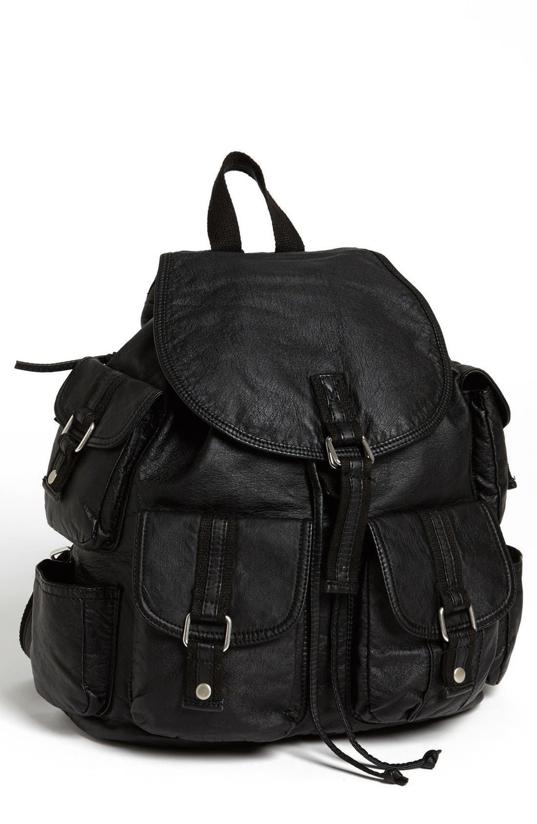 Main Image - Cesca 'Lotsa Pockets' Backpack (Juniors) (Online Only)