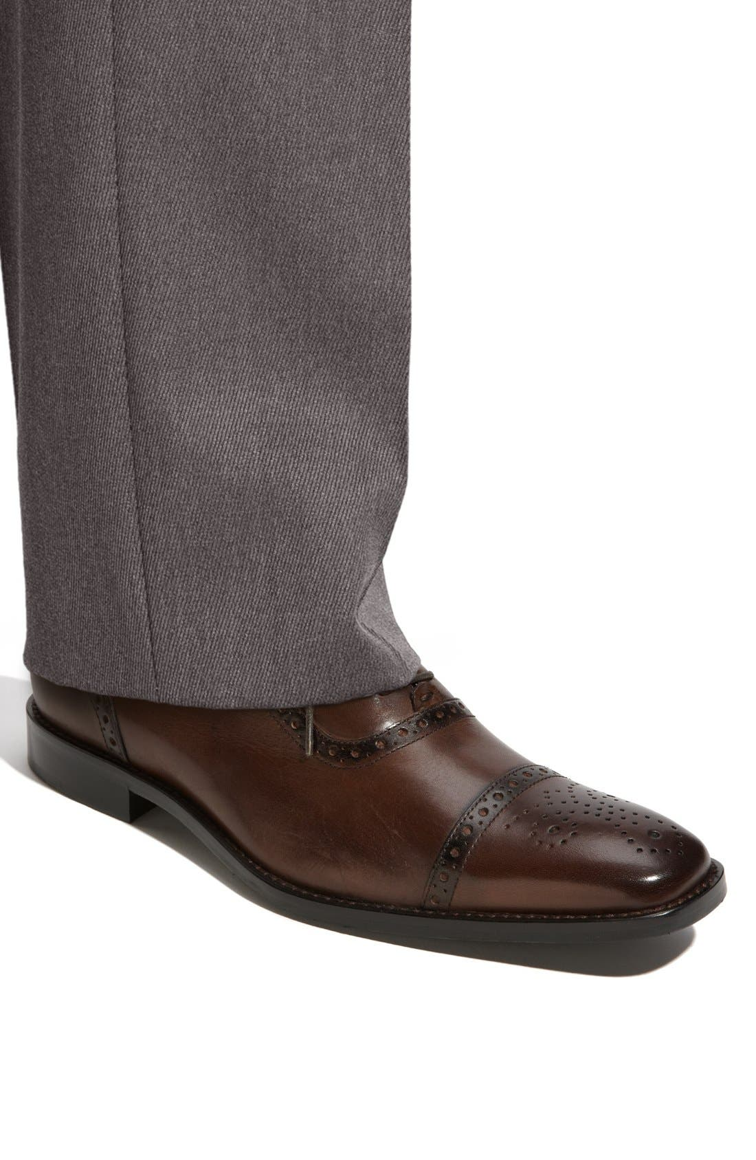 Alternate Image 5  - Calibrate 'Brandon' Cap Toe Oxford