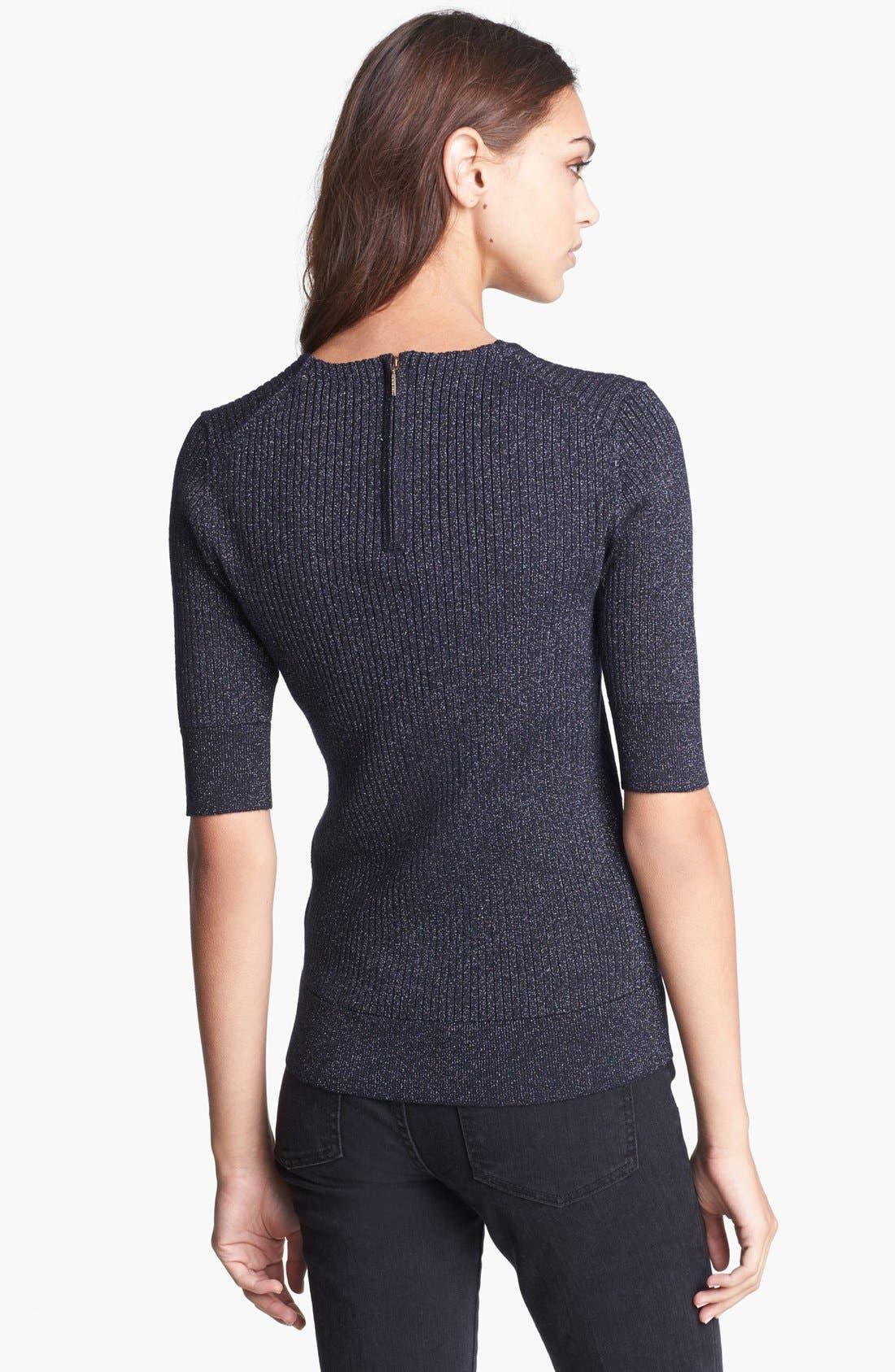 Alternate Image 2  - Tory Burch 'Joella' Ribbed Sweater