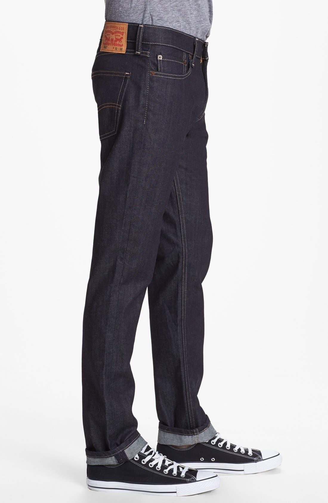 Alternate Image 3  - Levi's® '511™' Slim Fit Jeans (Rigid Dragon)