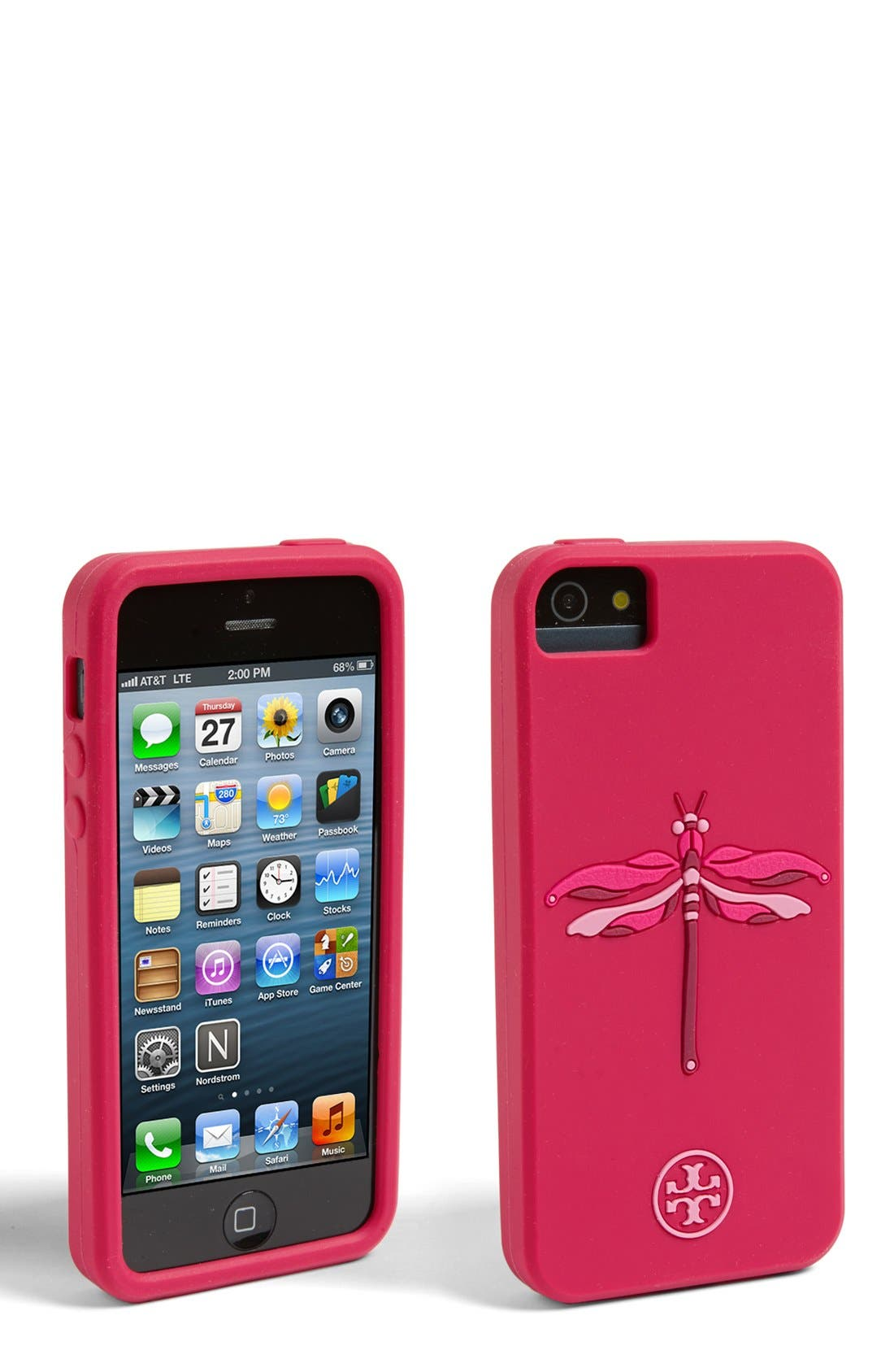 Alternate Image 1 Selected - Tory Burch 'Dragonfly' iPhone 5 Case