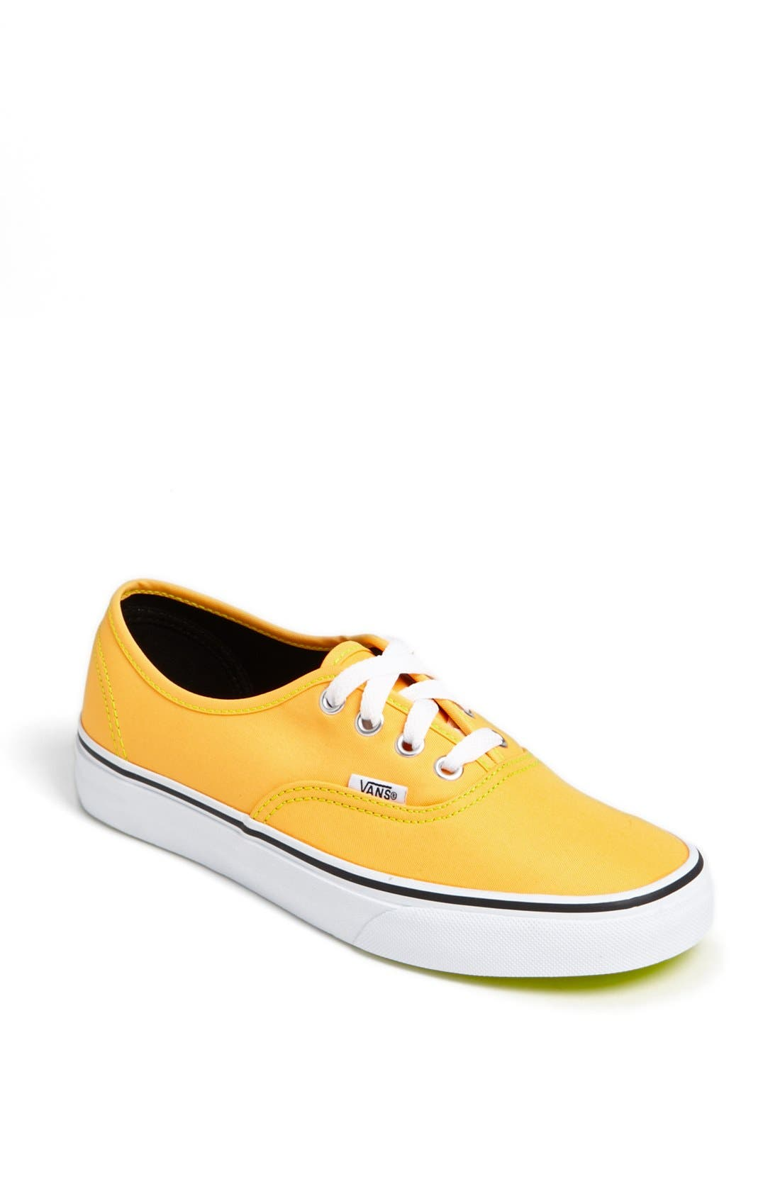 Alternate Image 1 Selected - Vans 'Authentic' Neon Sneaker (Women)