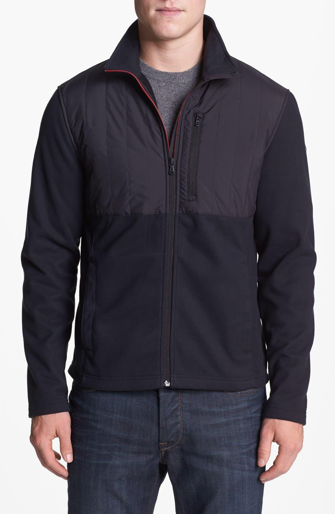 Alternate Image 1 Selected - Victorinox Swiss Army® 'Matterhorn' Tailored Fit Fleece Jacket