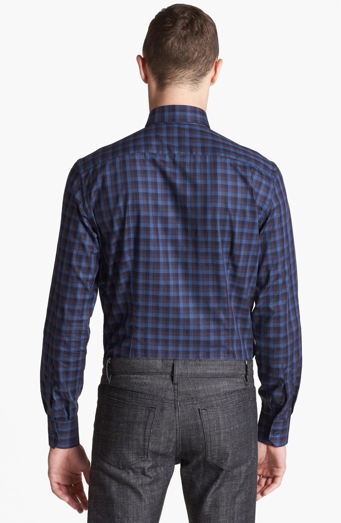 Alternate Image 2  - Lanvin Check Dress Shirt