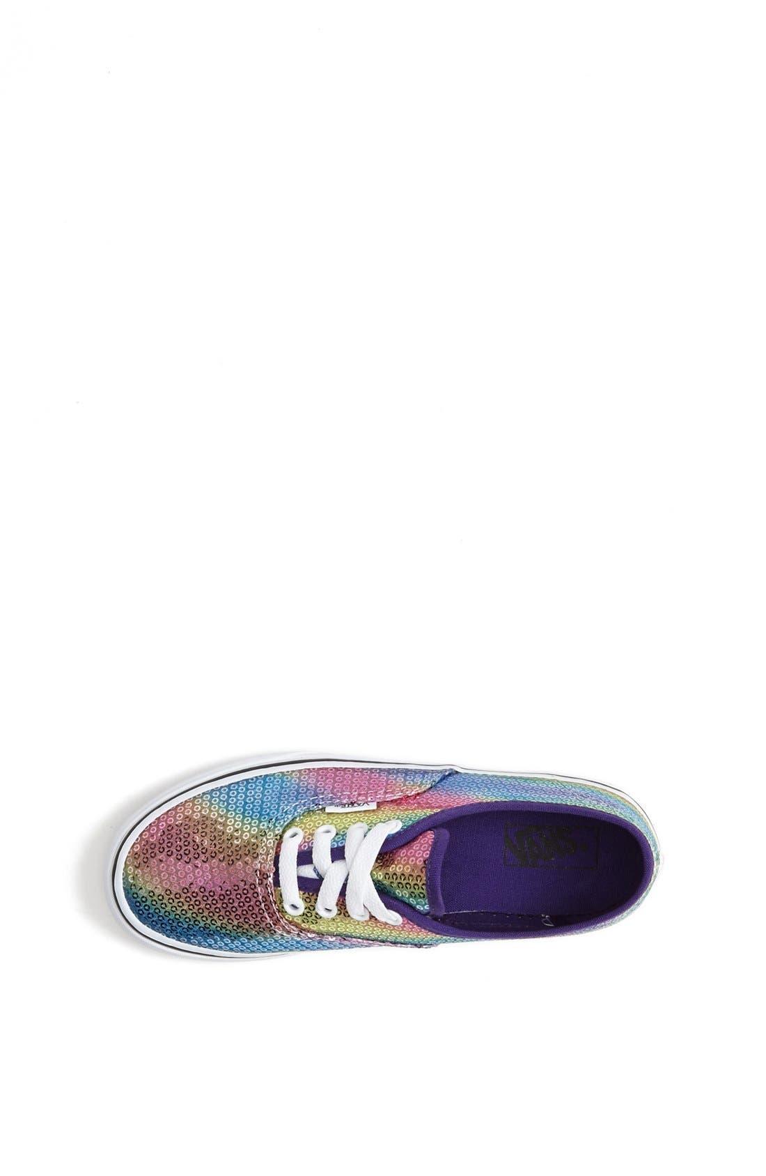 Alternate Image 3  - Vans 'Classic - Rainbow Sequin' Sneaker (Toddler, Little Kid & Big Kid)