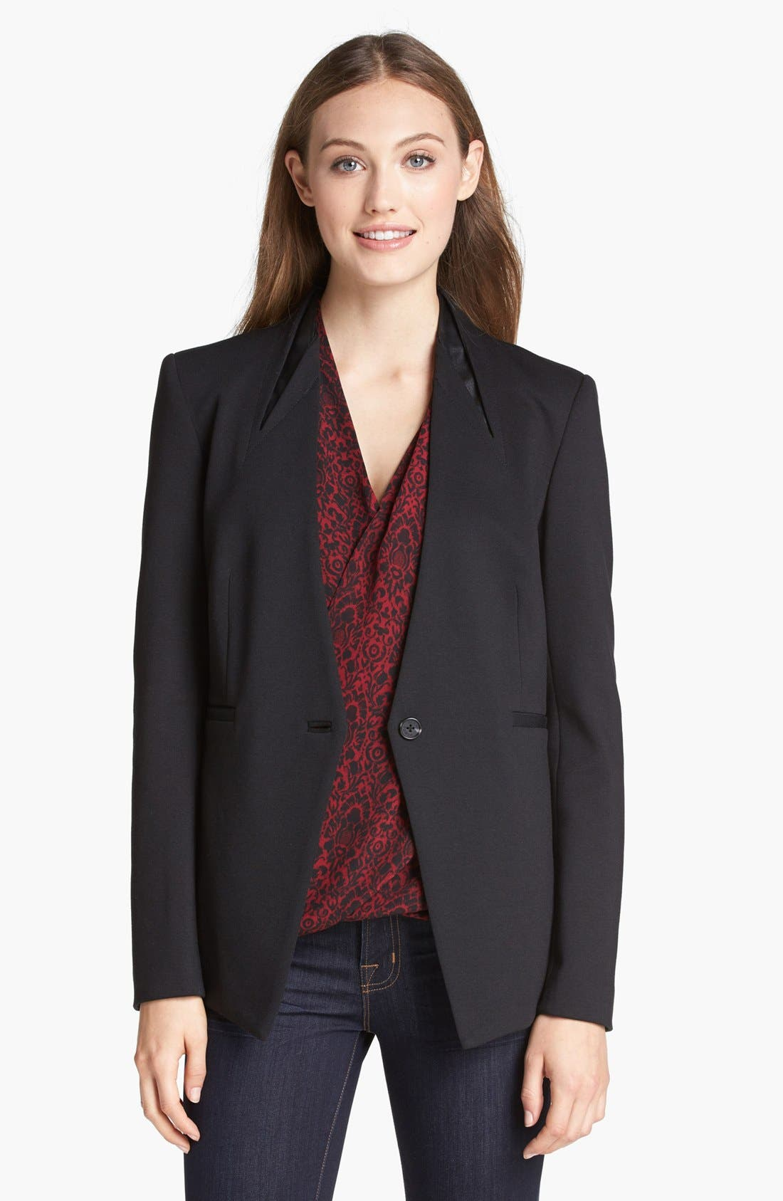 Alternate Image 1 Selected - Vince Camuto One Button Blazer