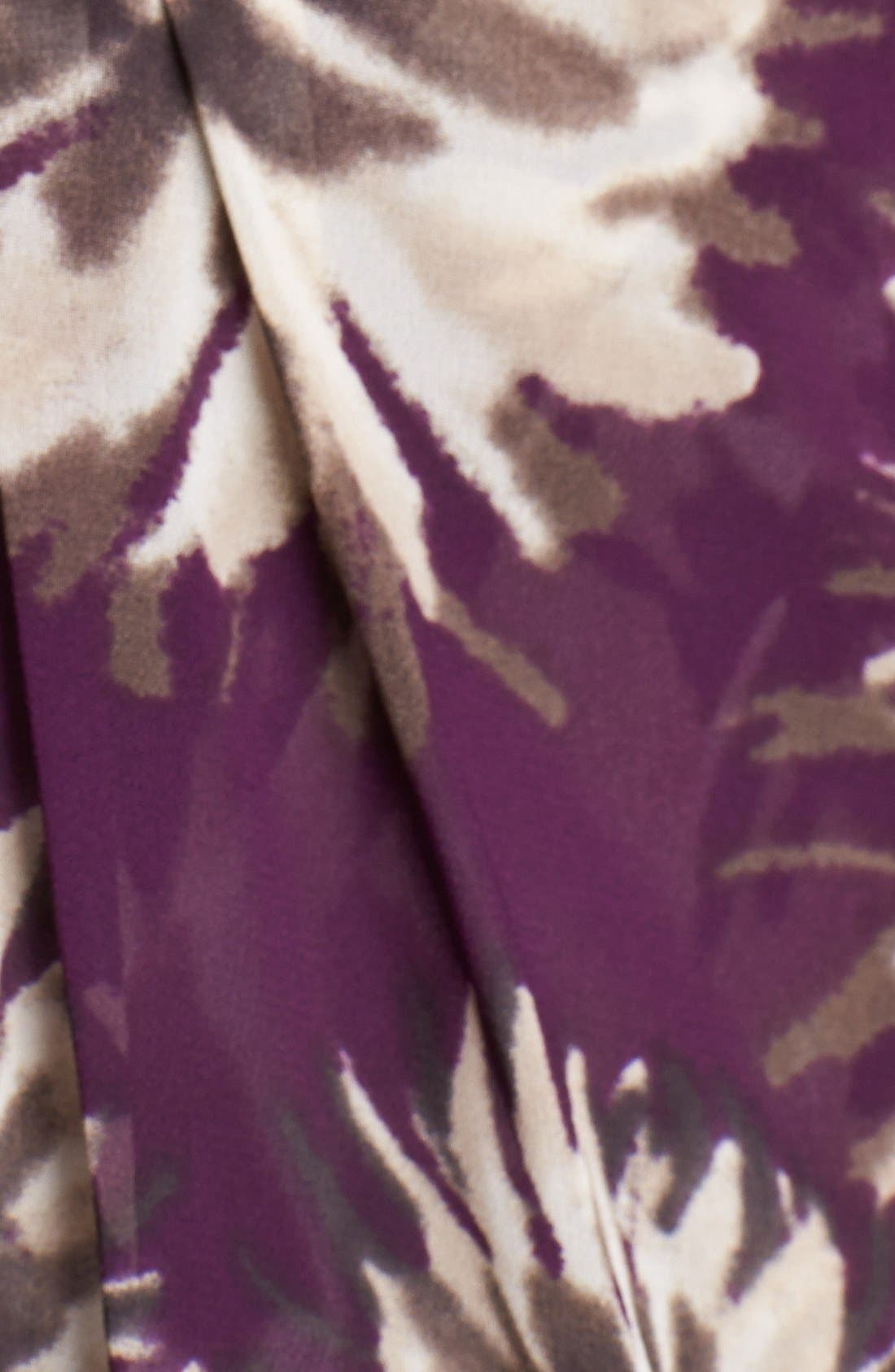 Alternate Image 3  - Eliza J Floral Print Chiffon Gown