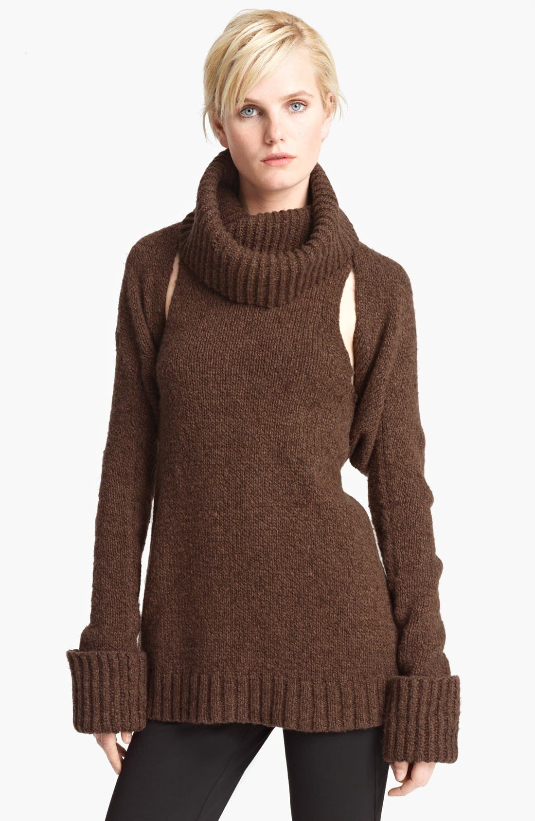 Main Image - Donna Karan Collection Cashmere Shrug