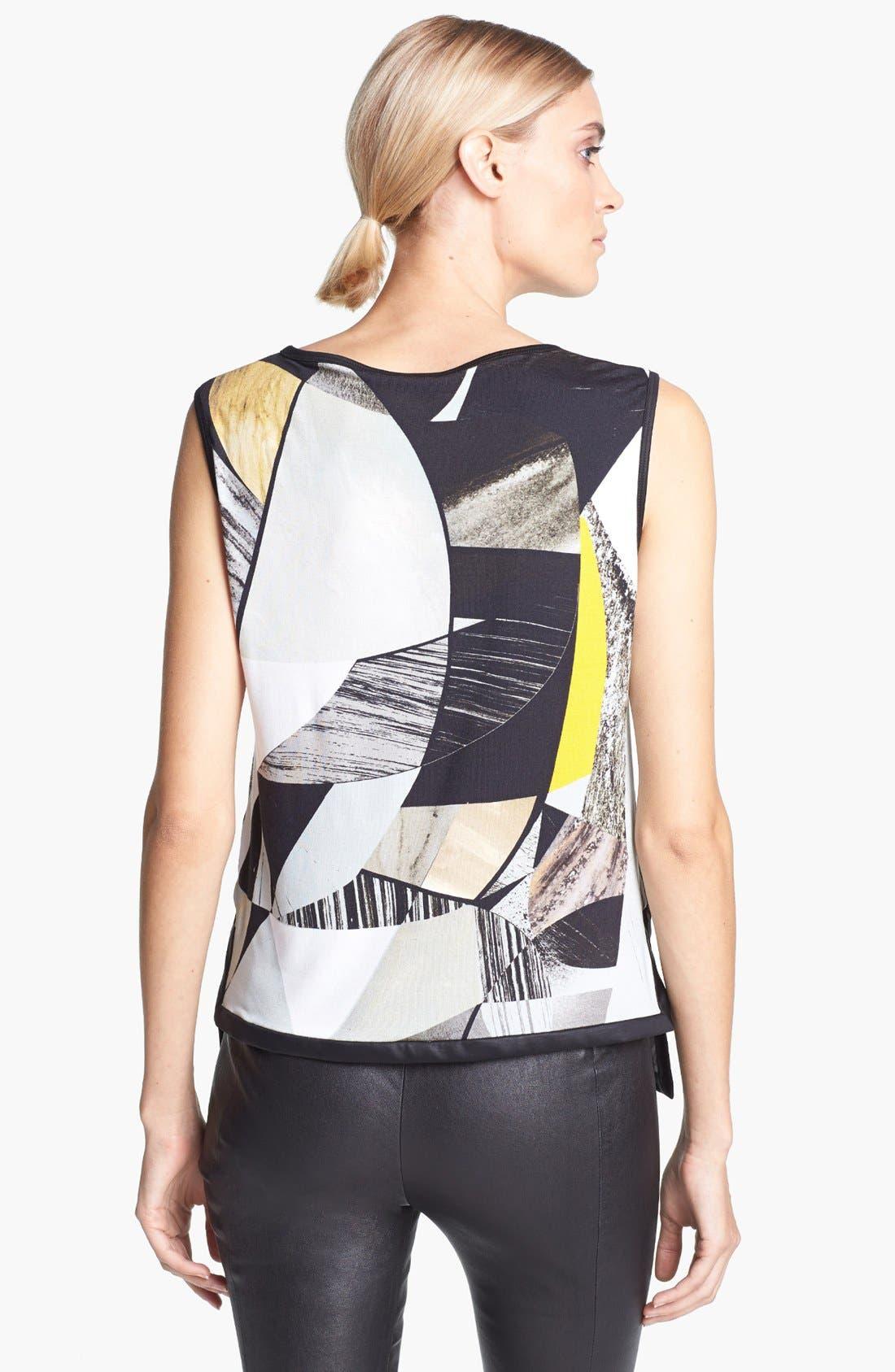 Alternate Image 2  - Helmut Lang Print Jersey Top
