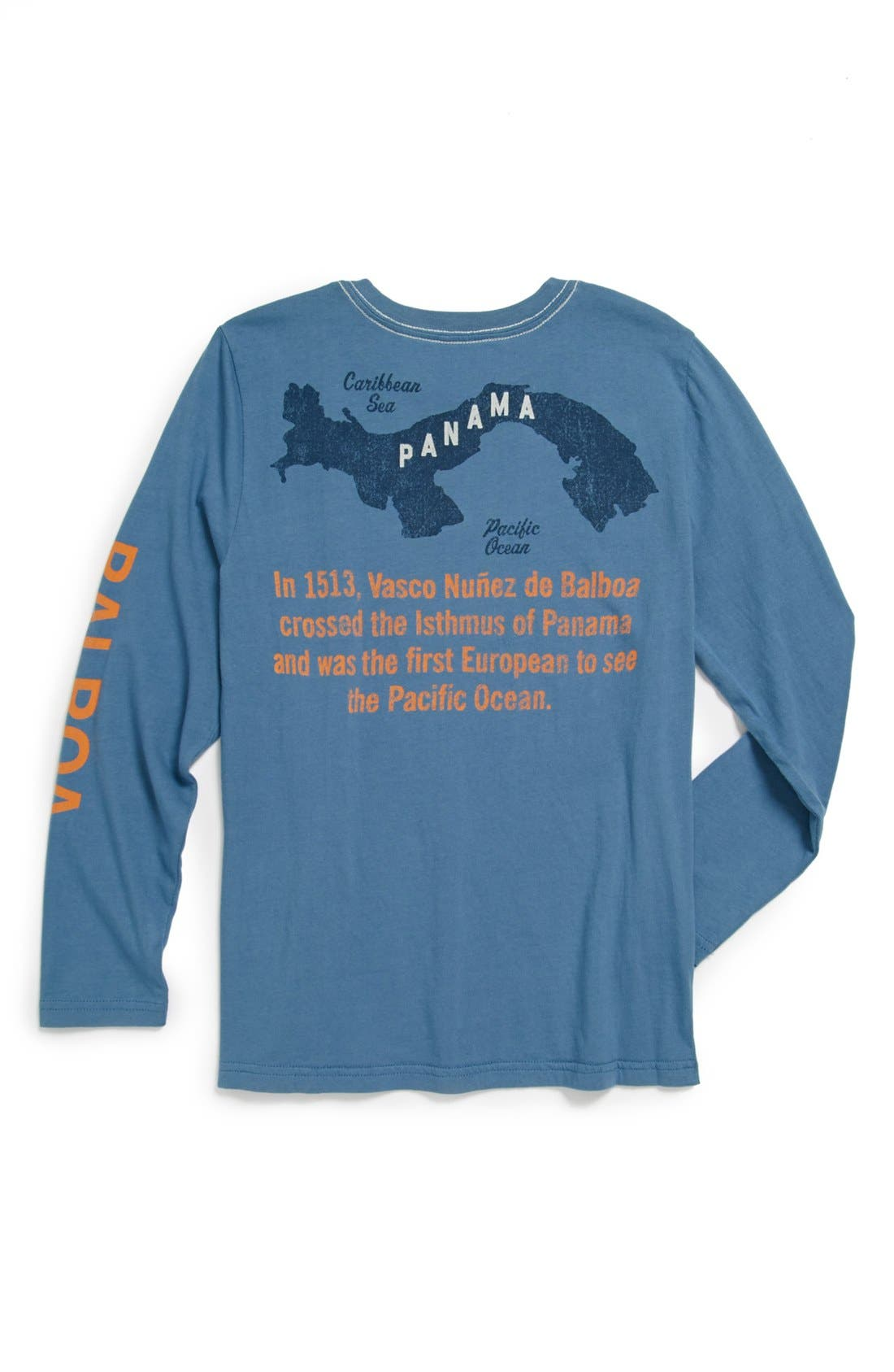 Alternate Image 2  - Peek 'Balboa' Long Sleeve T-Shirt (Toddler Boys, Little Boys & Big Boys)