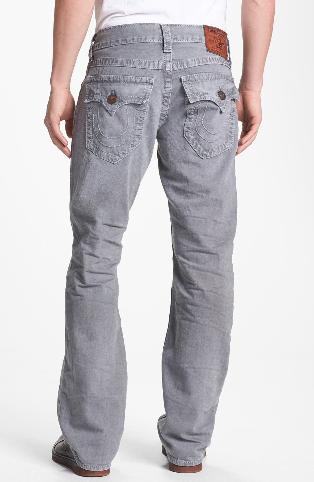 Alternate Image 1 Selected - True Religion Brand Jeans 'Ricky' Straight Leg Jeans (Assd Seal)