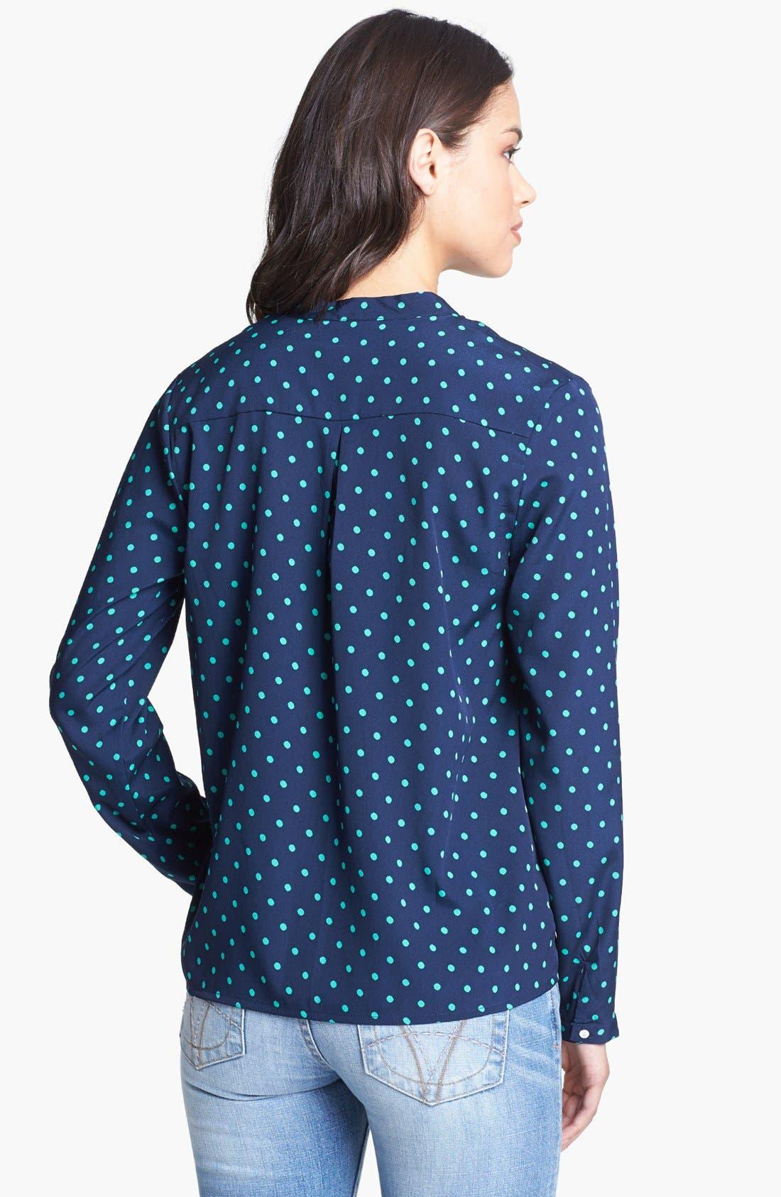 Alternate Image 2  - KUT from the Kloth 'Sabina' Polka Dot Shirt