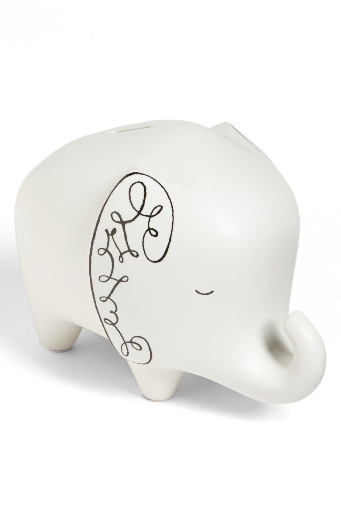Alternate Image 1 Selected - kate spade new york elephant bank