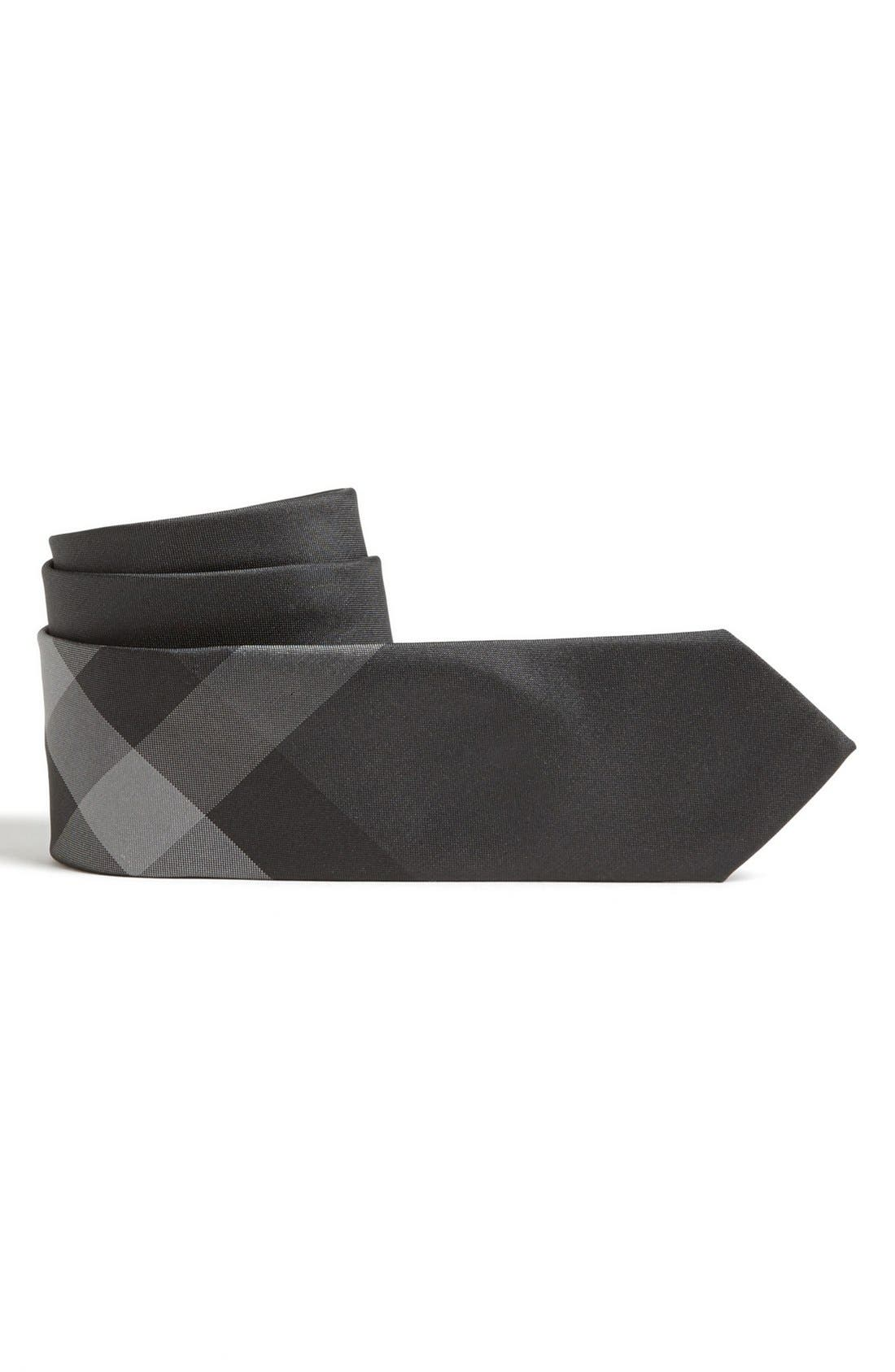 Main Image - Burberry Woven Silk Tie (Big Boys)