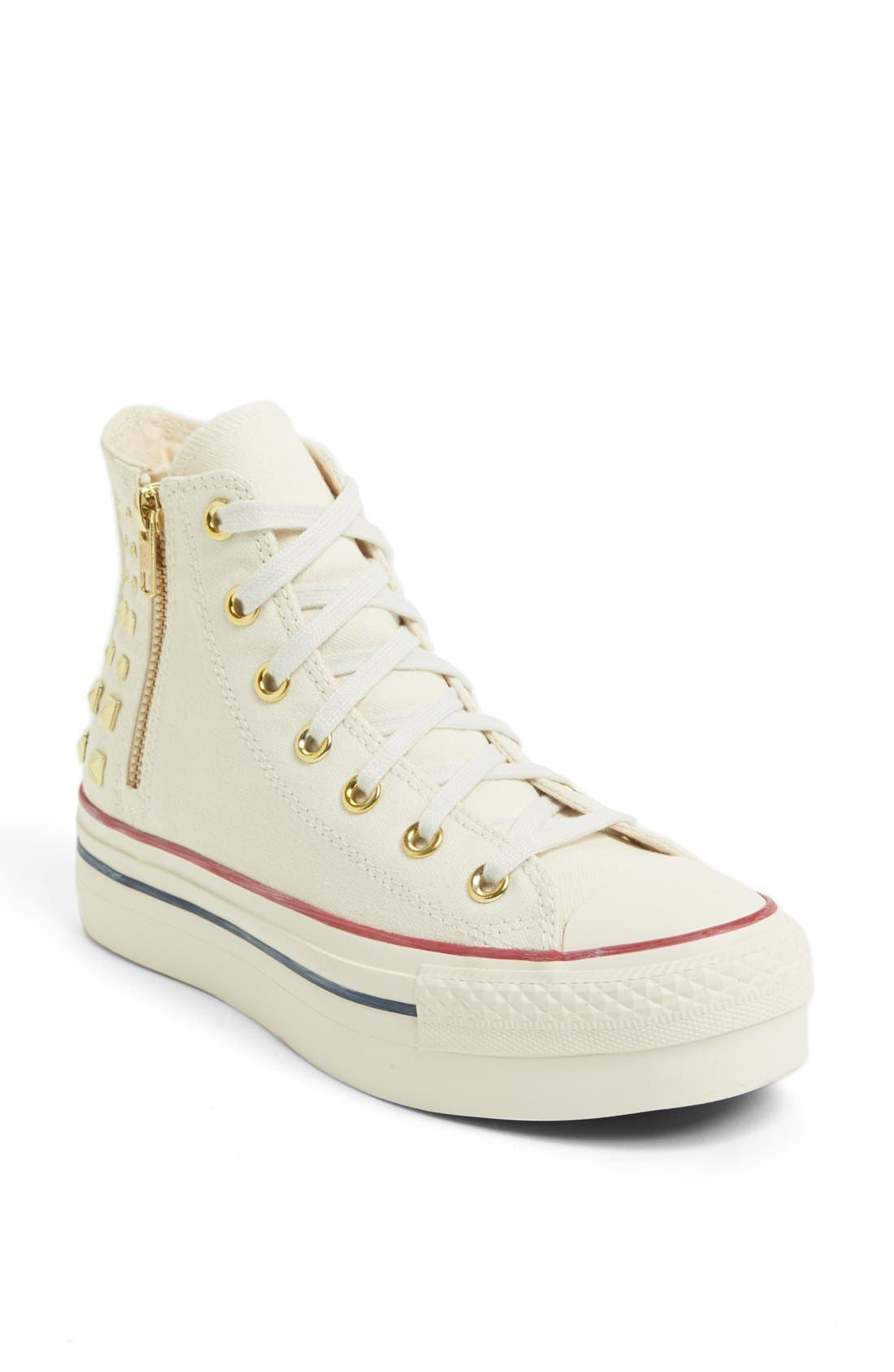 Alternate Image 1 Selected - Converse Chuck Taylor® All Star® Platform High Top Sneaker (Women)
