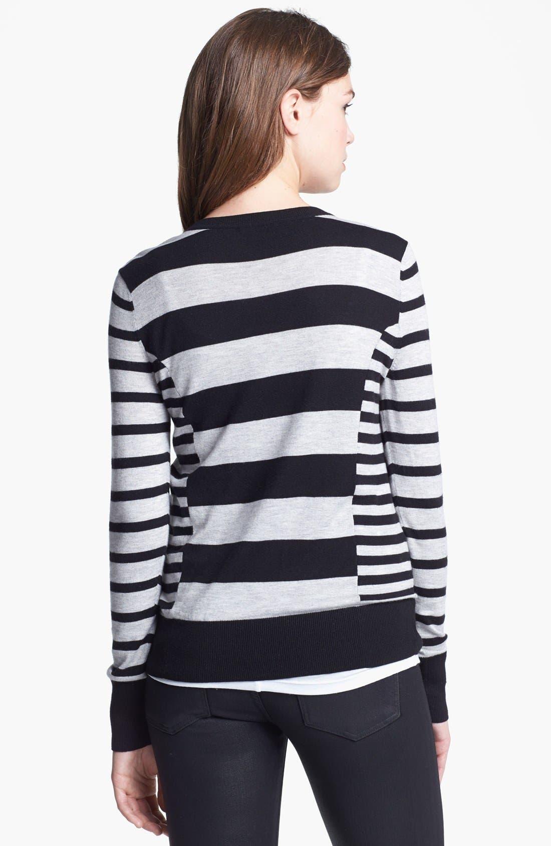 Alternate Image 2  - Halogen® Pattern Sweater (Regular & Petite)