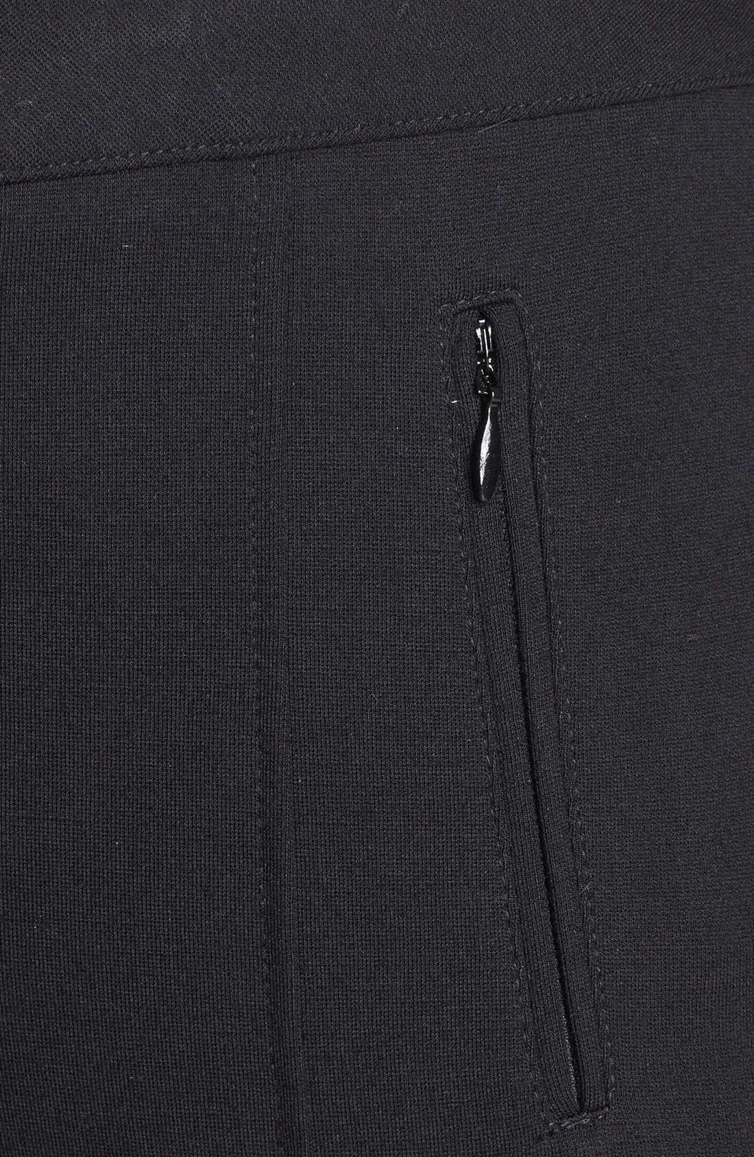 Alternate Image 3  - NYDJ 'Ski' Zip Pocket Ponte Knit Pants (Petite)