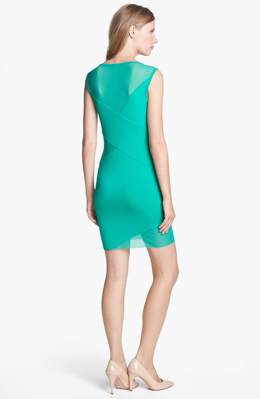 Alternate Image 2  - B44 Dressed by Bailey 44 'Deep Space' Mesh & Jersey Dress