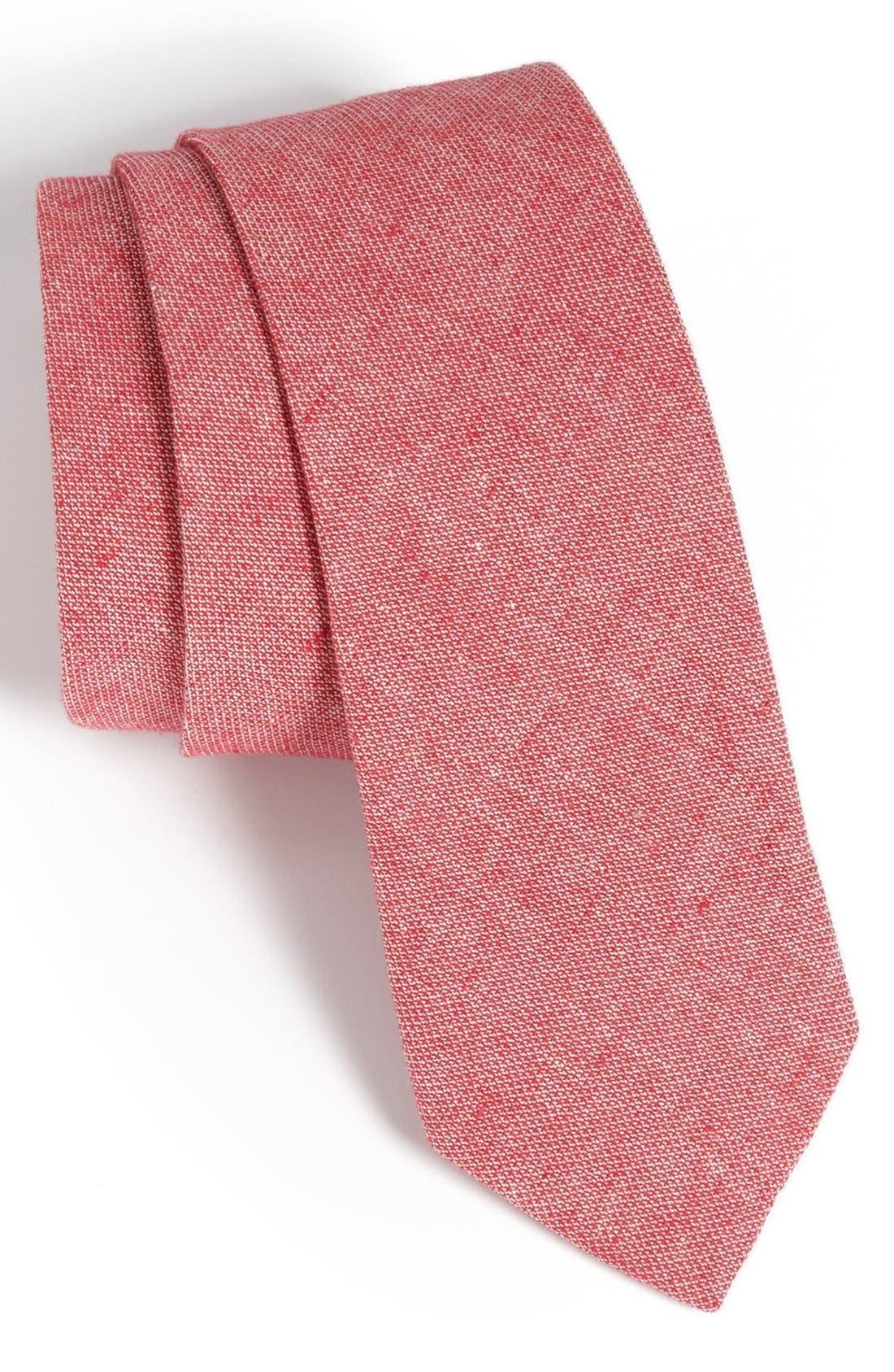 Main Image - Topman Chambray Tie