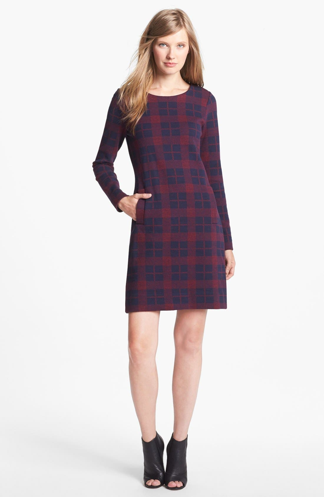Alternate Image 1 Selected - MARC BY MARC JACOBS 'Maya' Wool Blend Shift Dress