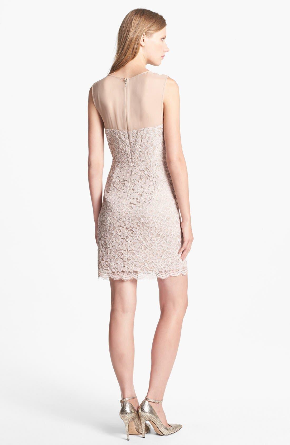 Alternate Image 2  - Diane von Furstenberg 'Nisha' Lace Sheath Dress