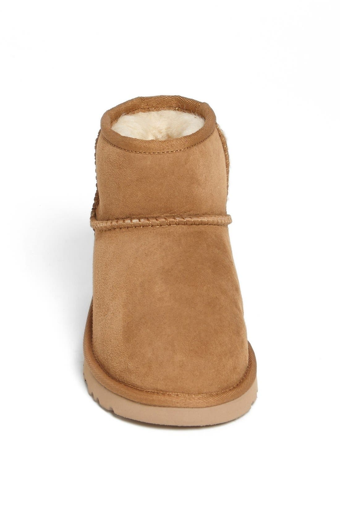 Alternate Image 3  - UGG® Australia 'Classic Mini' Boot (Little Kid & Big Kid)