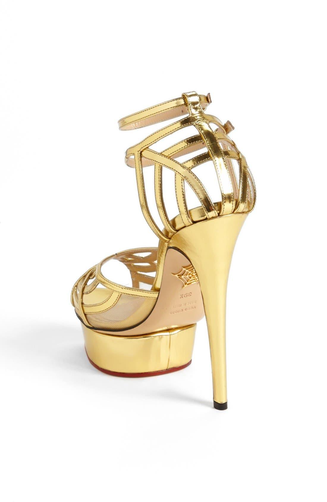 Alternate Image 4  - Charlotte Olympia 'Octavia' Sandal