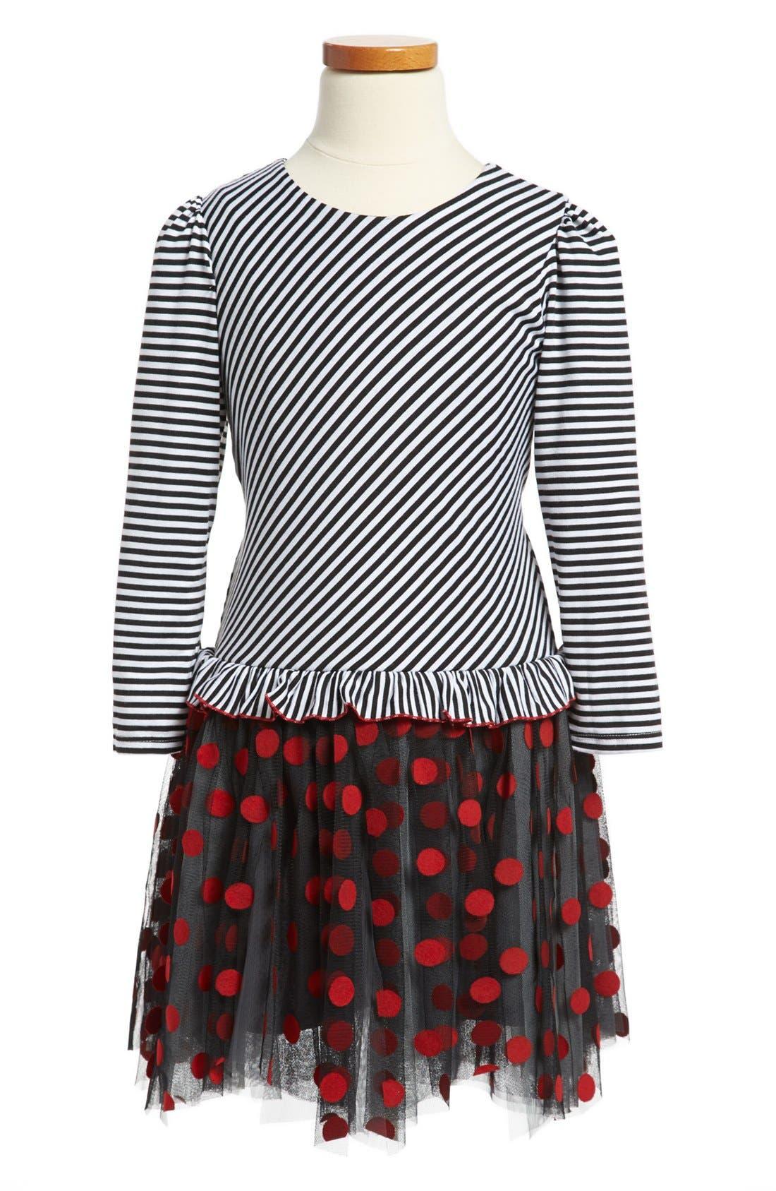 Main Image - Isobella & Chloe Tulle Dress (Little Girls & Big Girls)