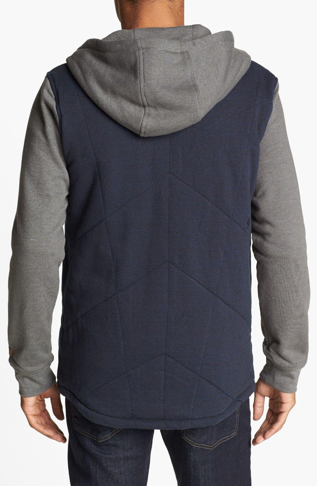 Alternate Image 2  - Volcom 'Barett' Quilted Jacket