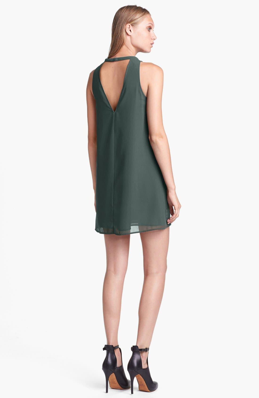 Alternate Image 2  - ASTR Embroidered Shift Dress