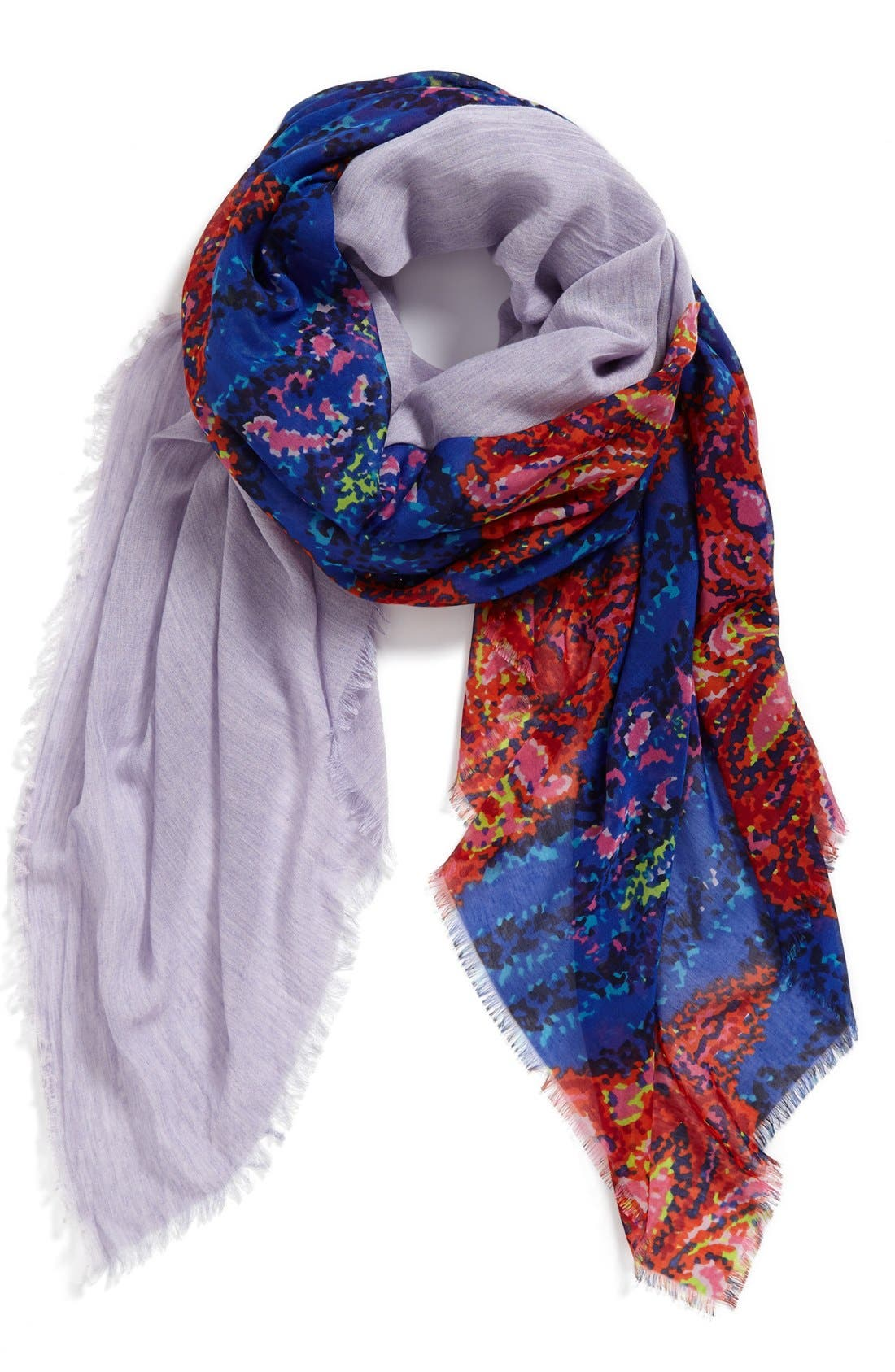 Main Image - Hinge 'Kaleidoscope' Two-Panel Scarf