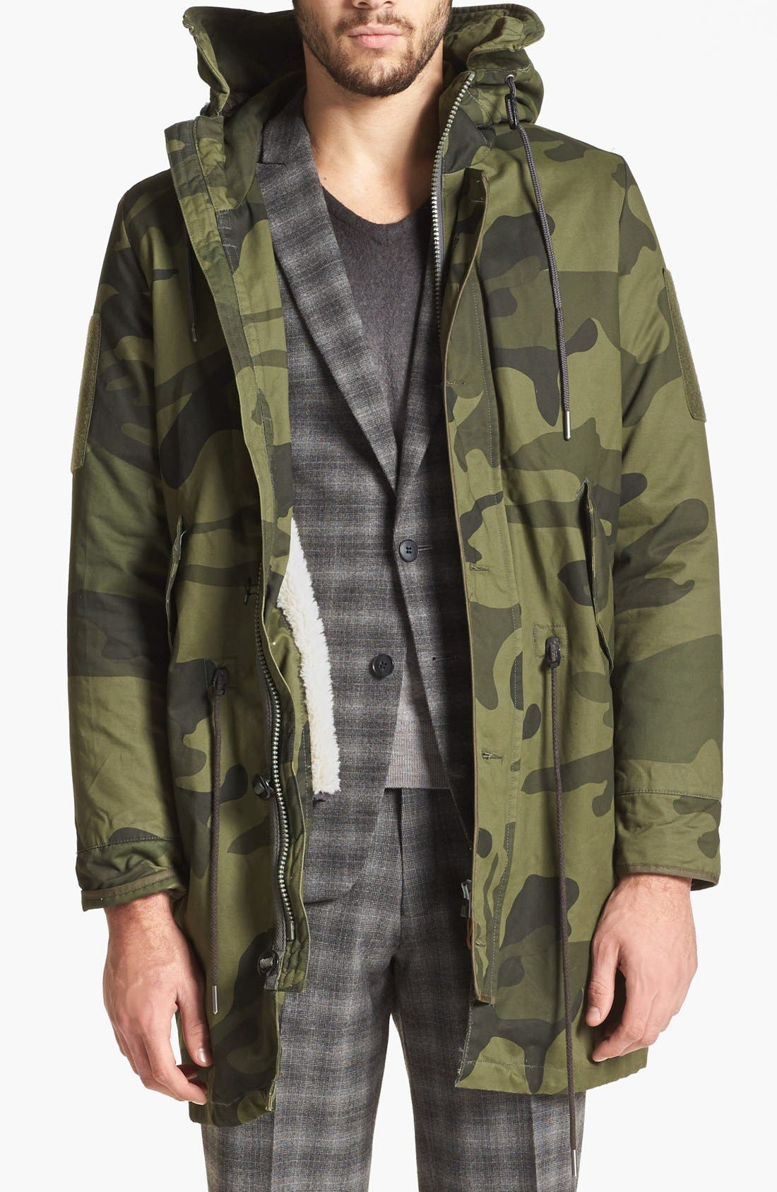 G-Star Raw 'Polar HDD' Camo Fishtail Parka | Nordstrom