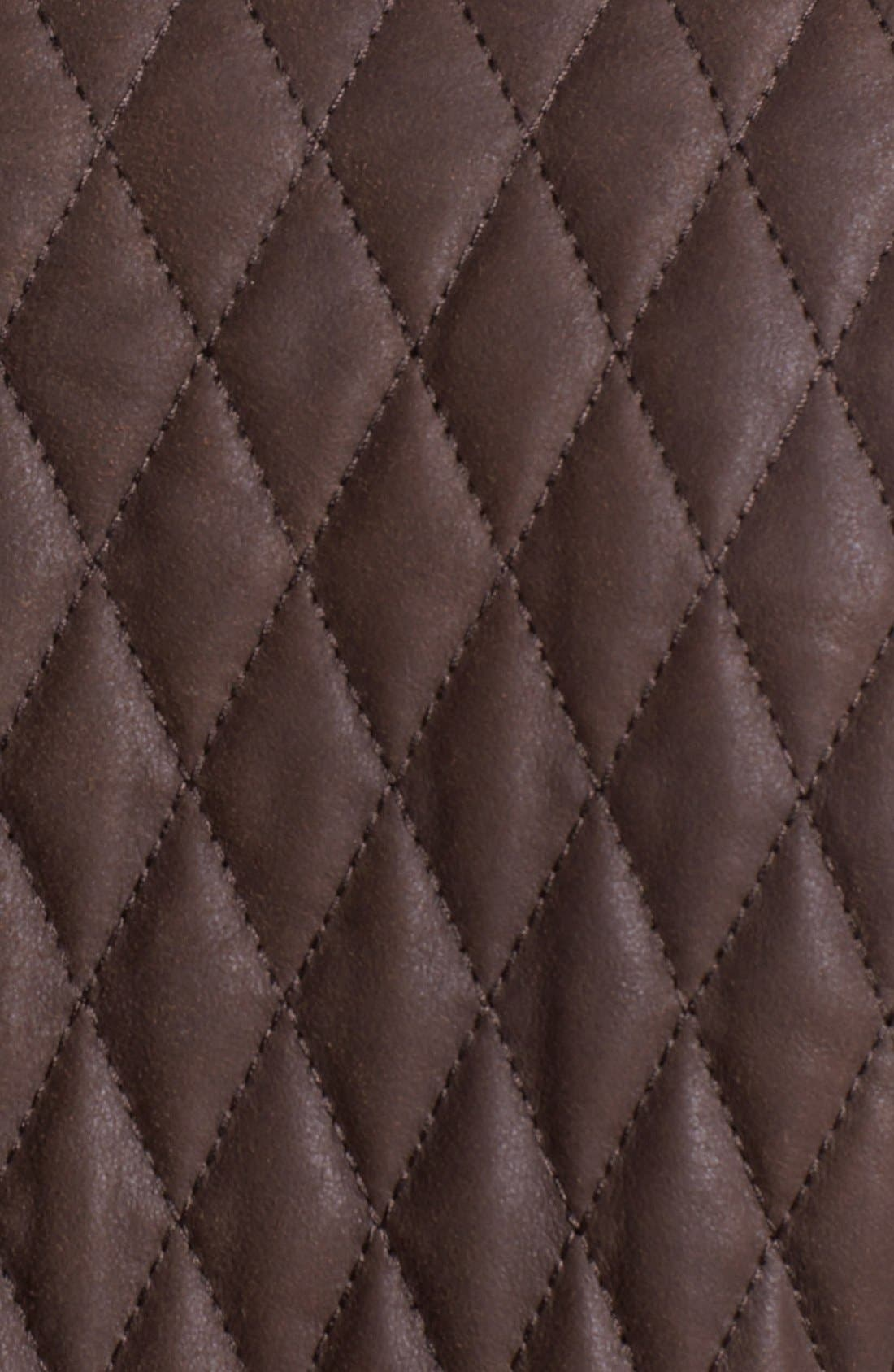 Alternate Image 3  - Robert Graham 'Miles' Quilted Suede Sportcoat