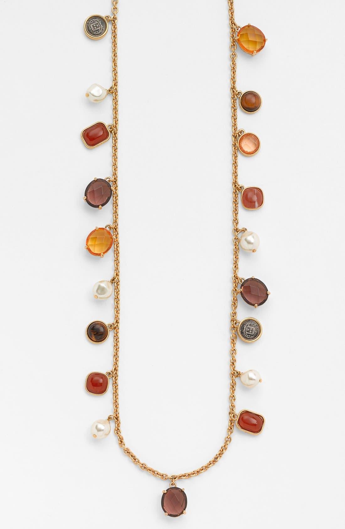Alternate Image 2  - Lauren Ralph Lauren Long Charm Necklace