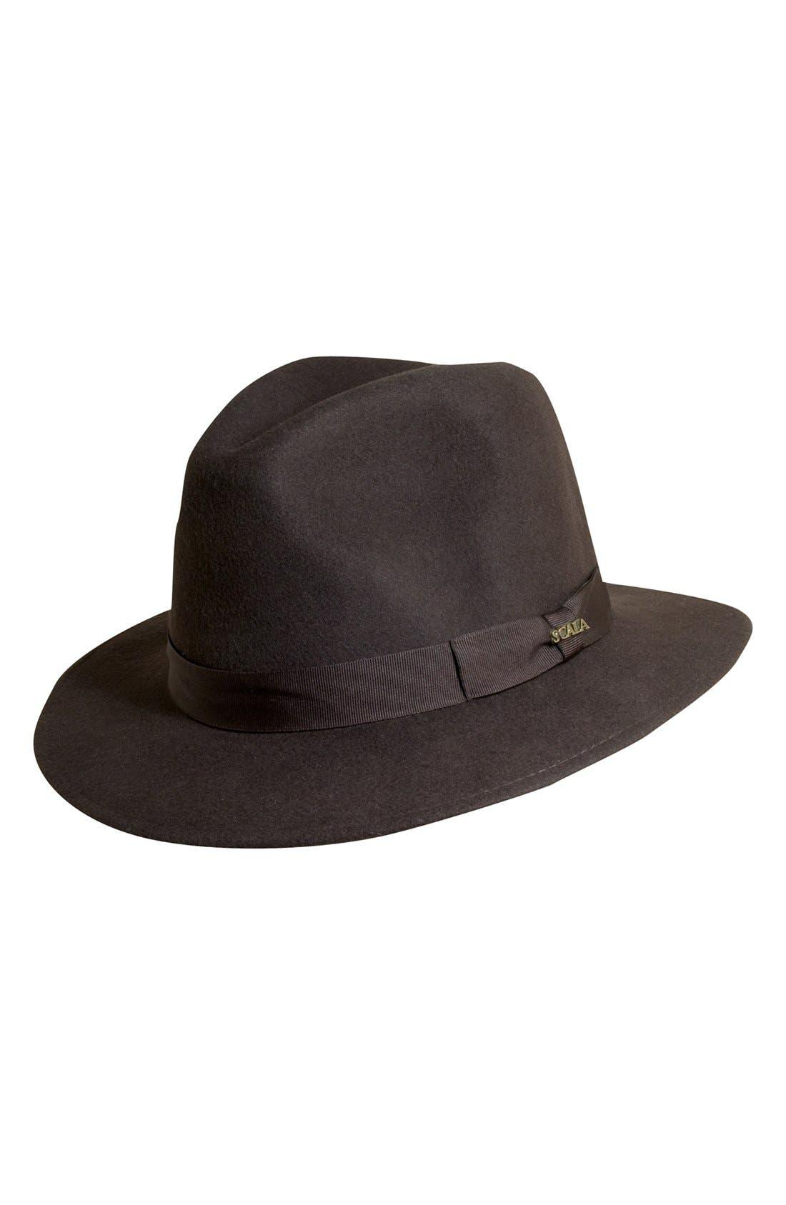 Alternate Image 1 Selected - Scala 'Classico' Crushable Felt Safari Hat