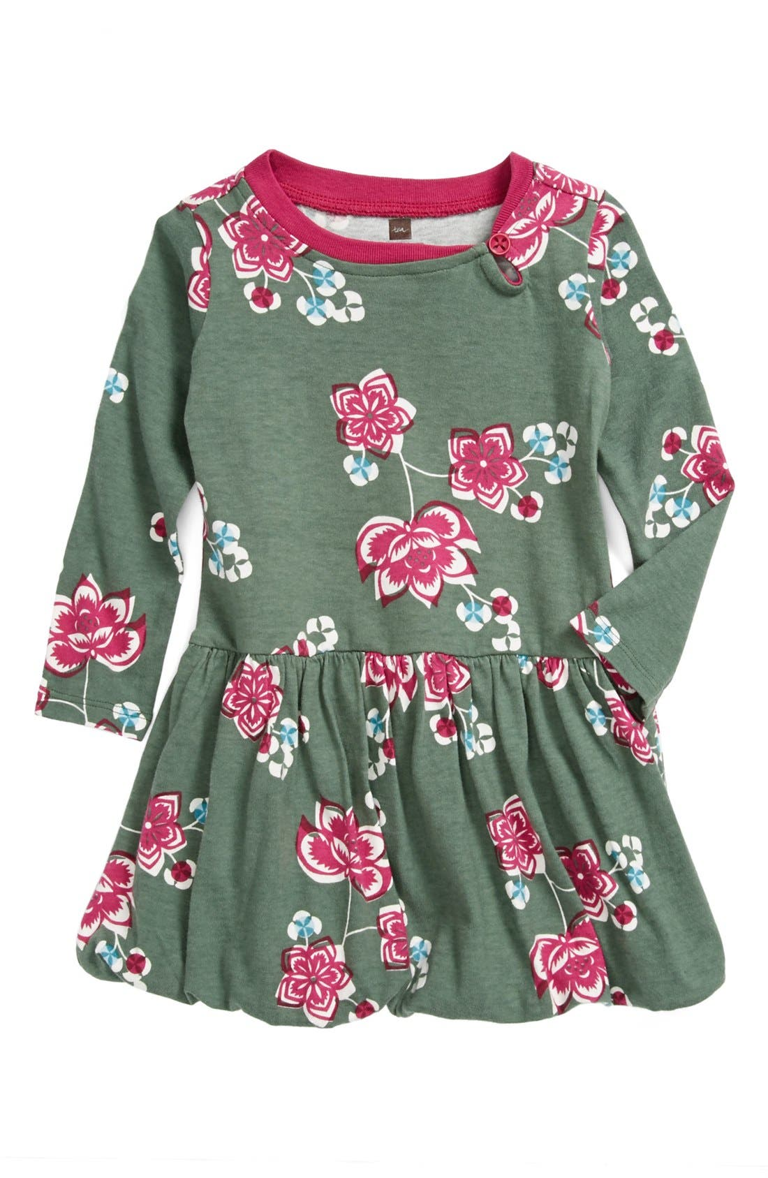 Alternate Image 1 Selected - Tea Collection 'Jianzhi' Bubble Dress (Baby Girls)