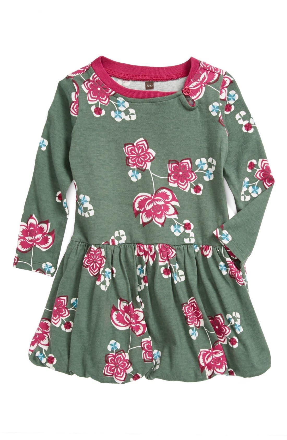 Main Image - Tea Collection 'Jianzhi' Bubble Dress (Baby Girls)