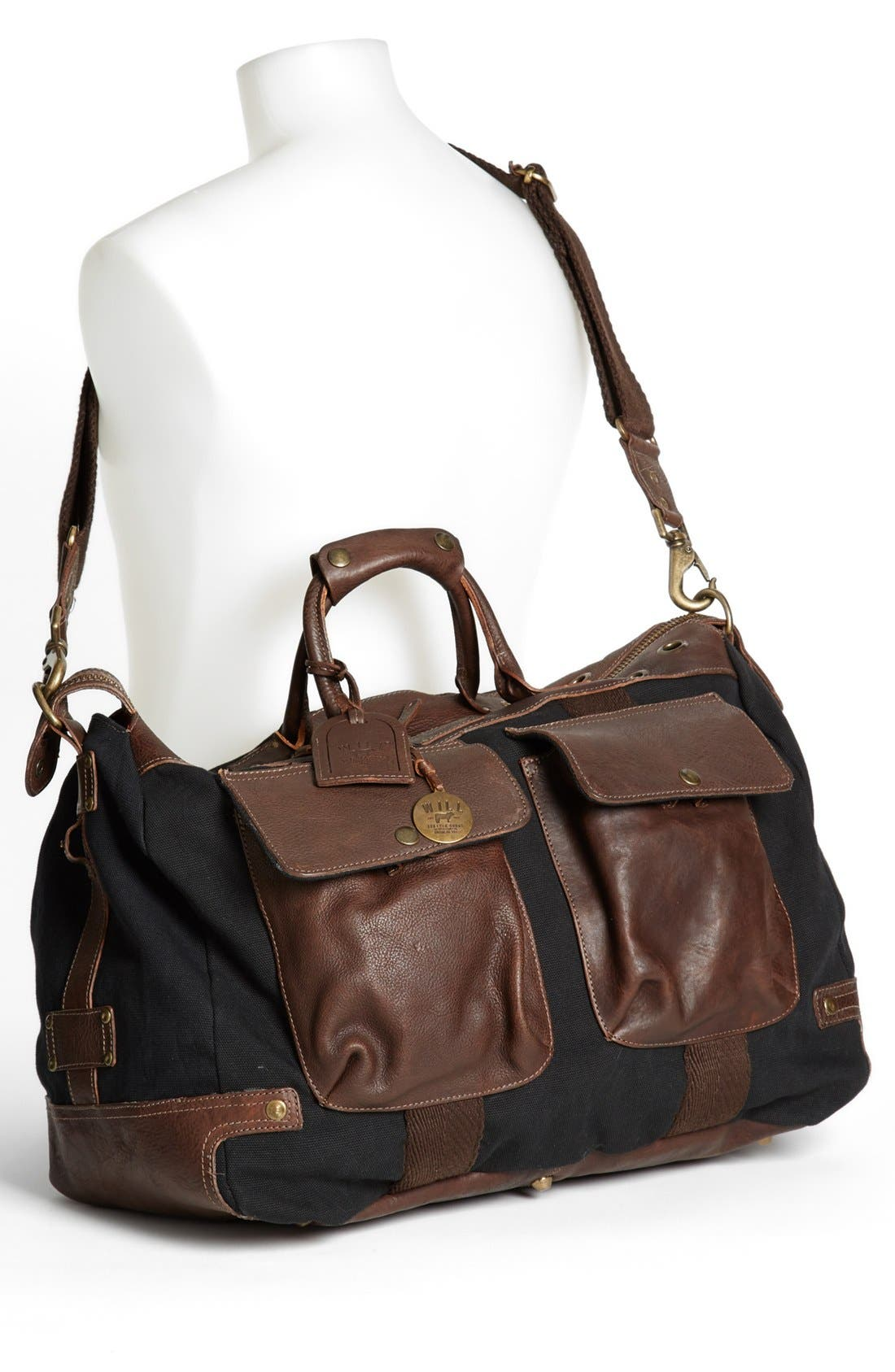 Alternate Image 2  - Will Leather Goods Traveler Duffel Bag