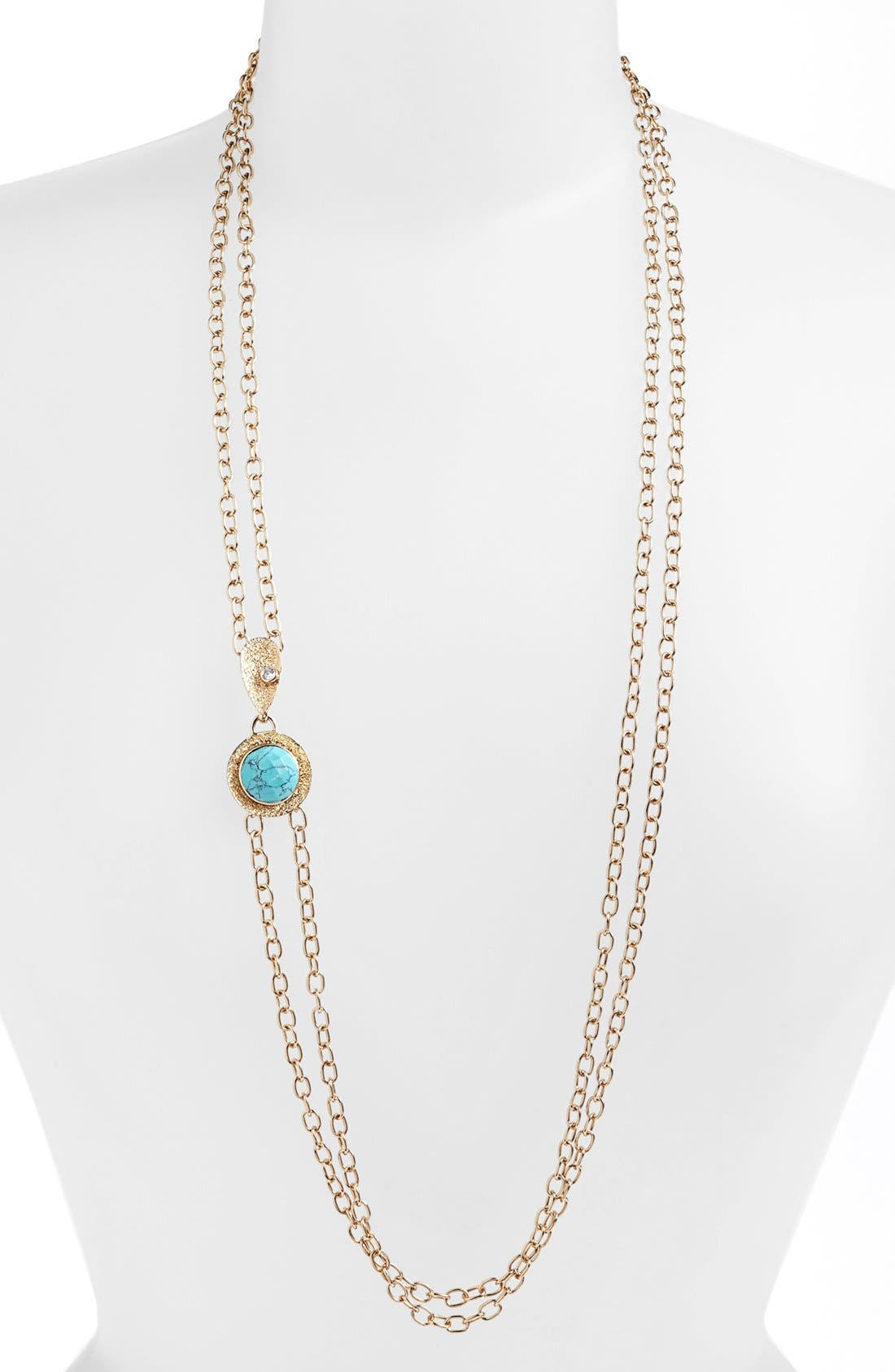 Main Image - Melinda Maria 'Sandra' Long Multistrand Necklace (Nordstrom Exclusive)