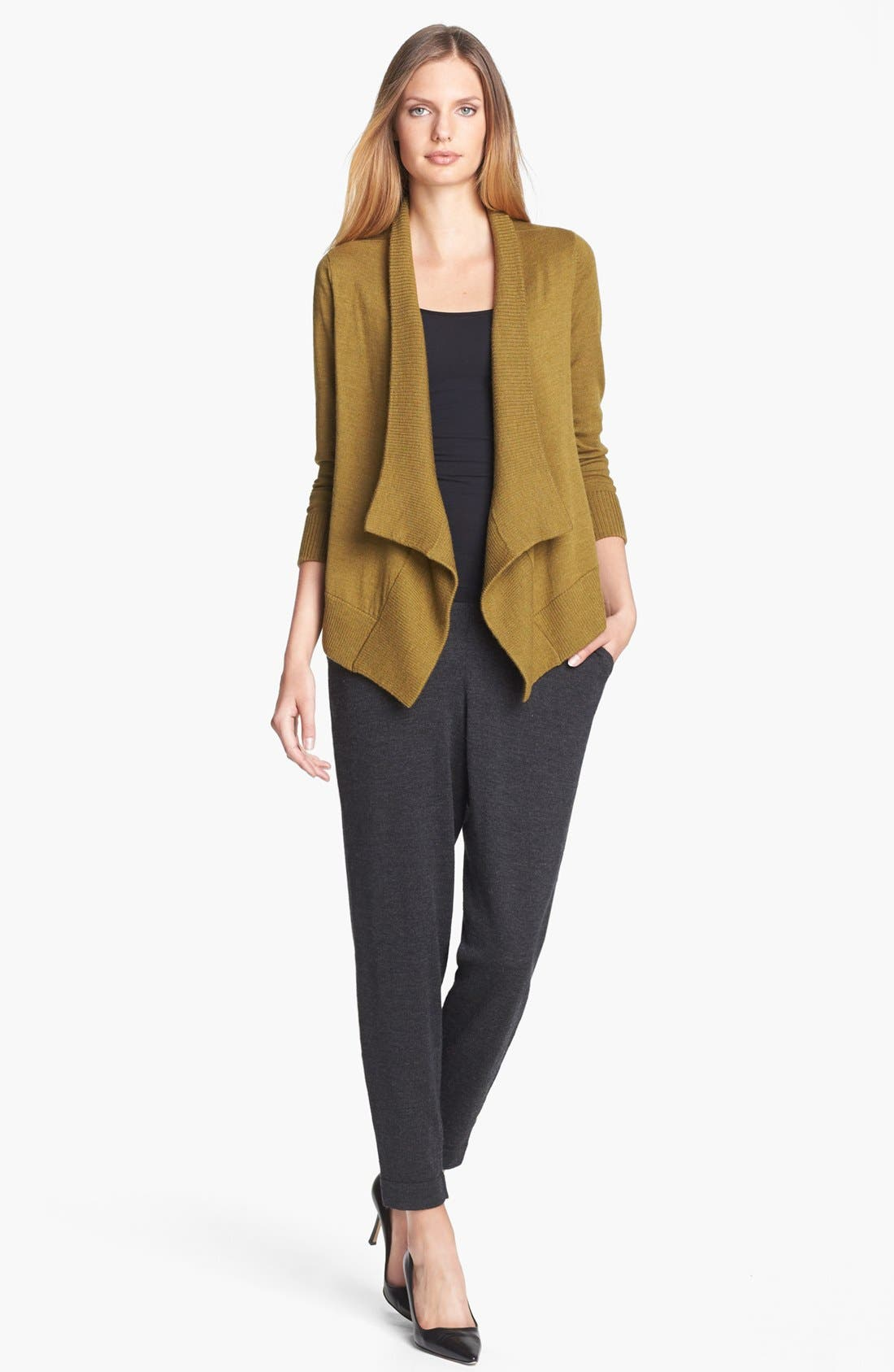 Alternate Image 2  - Eileen Fisher Slouchy Wool Ankle Pants