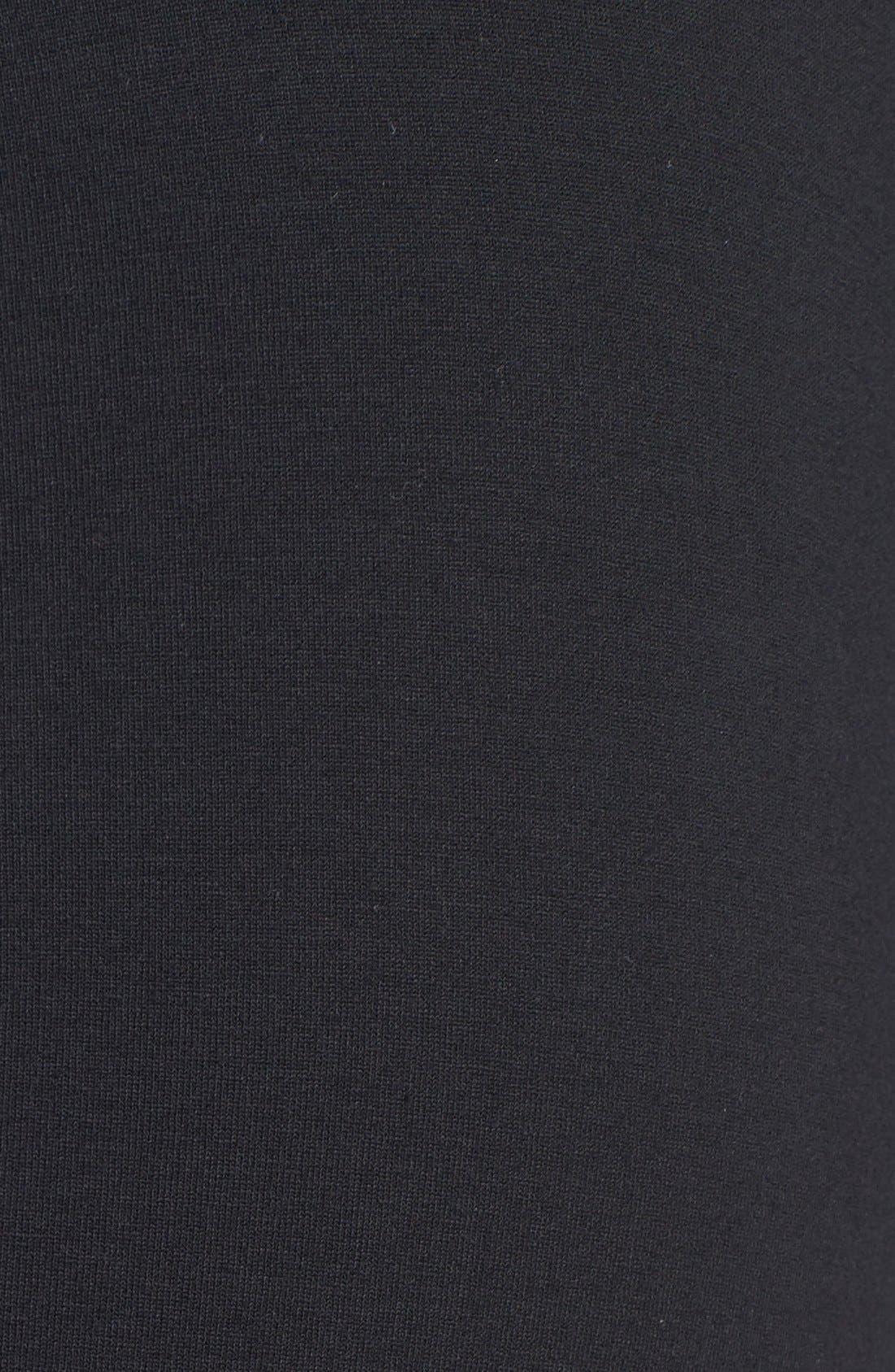 Skirted Leggings,                             Alternate thumbnail 3, color,                             Black