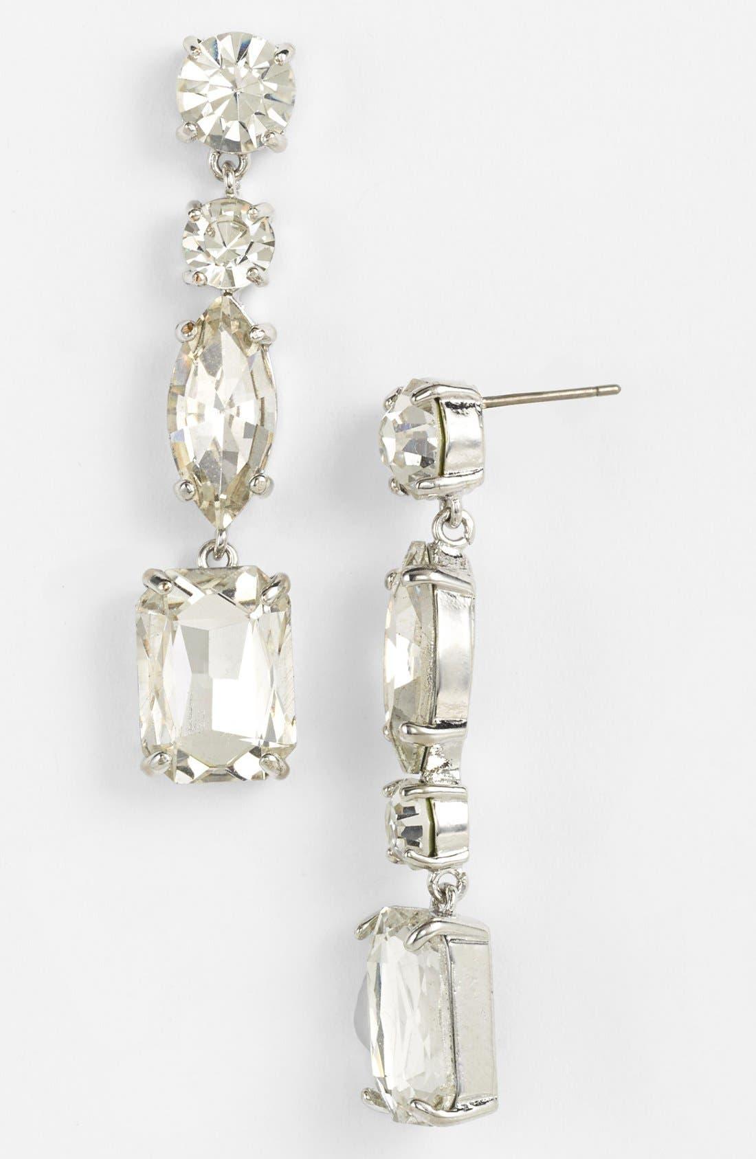 Alternate Image 1 Selected - kate spade new york 'opening night' linear earrings