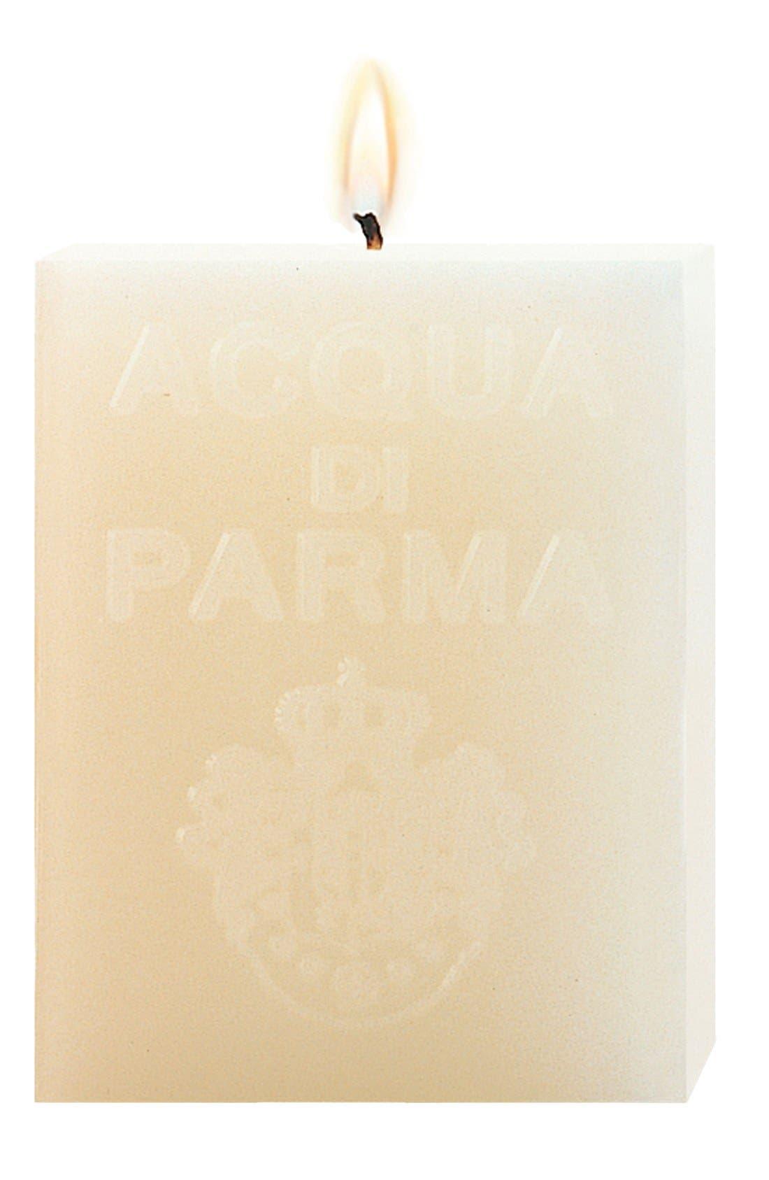 'White Clove' Cube Candle,                         Main,                         color, No Color