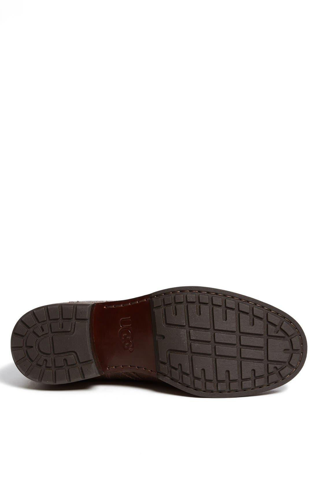 Alternate Image 4  - UGG® Australia 'Jarrett' Moc Toe Boot (Men)